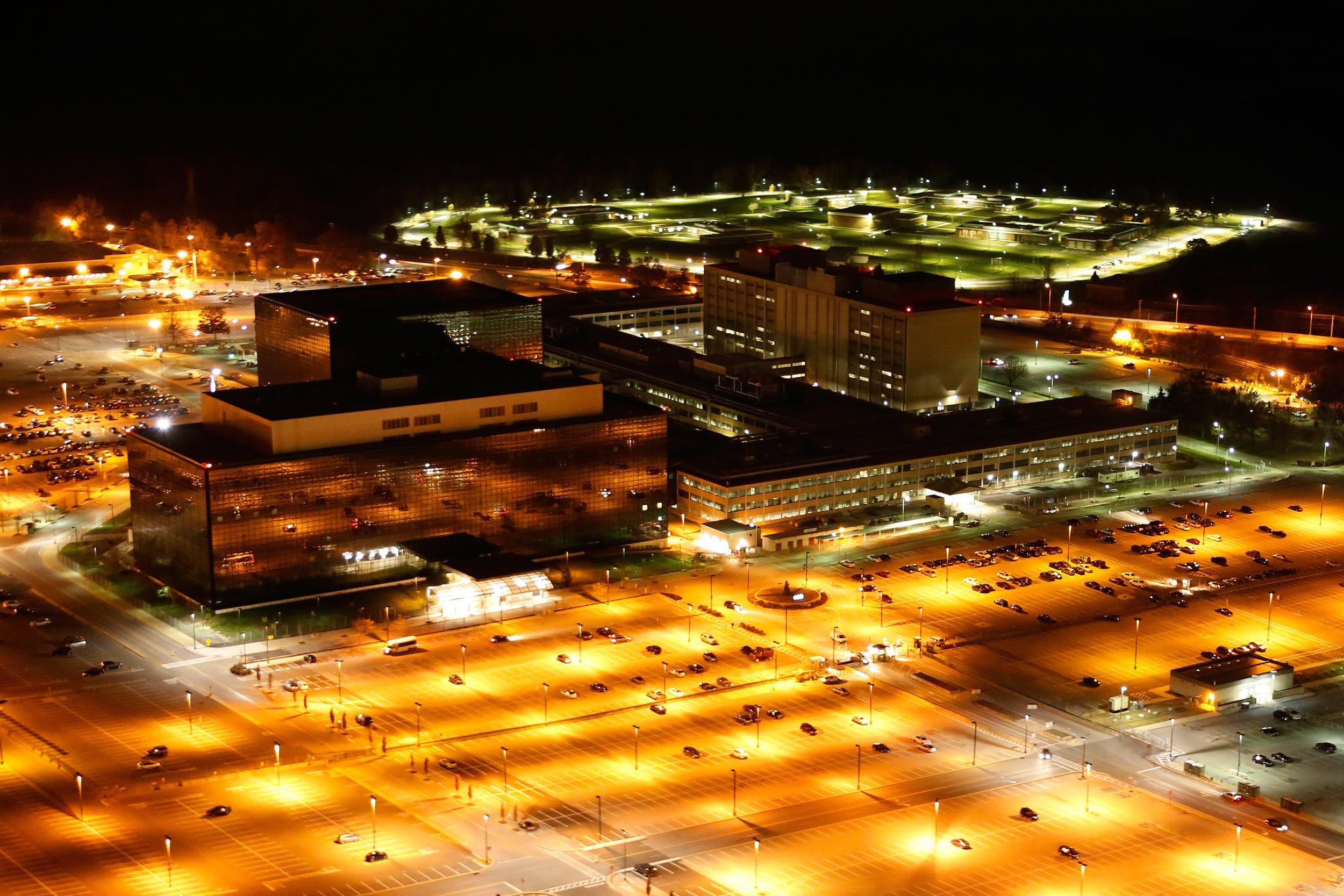 Image: National Security Agency (NSA) headquarters in Fort Meade, Maryland.