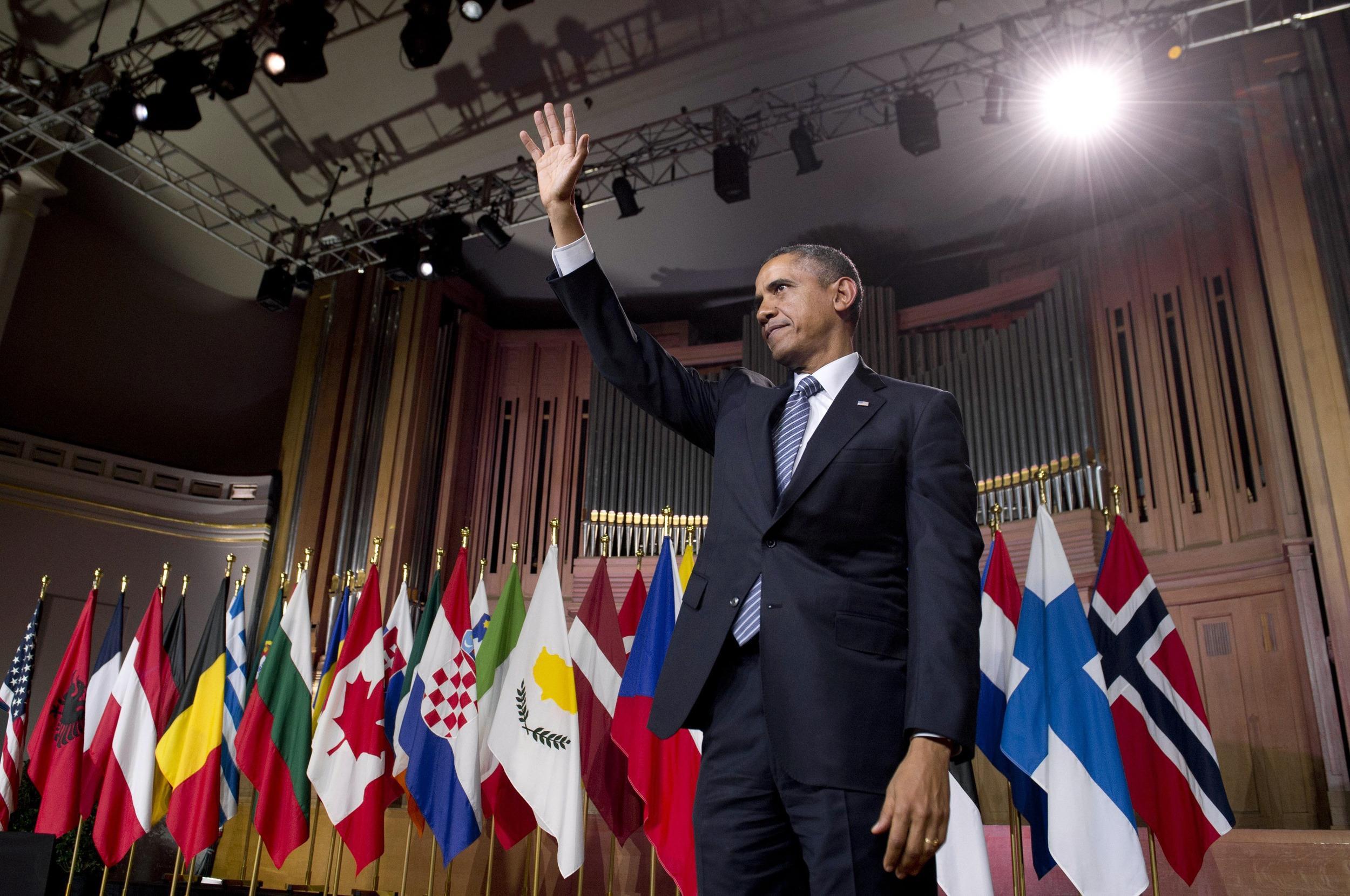 Image: BELGIUM-US-NATO-DIPLOMACY