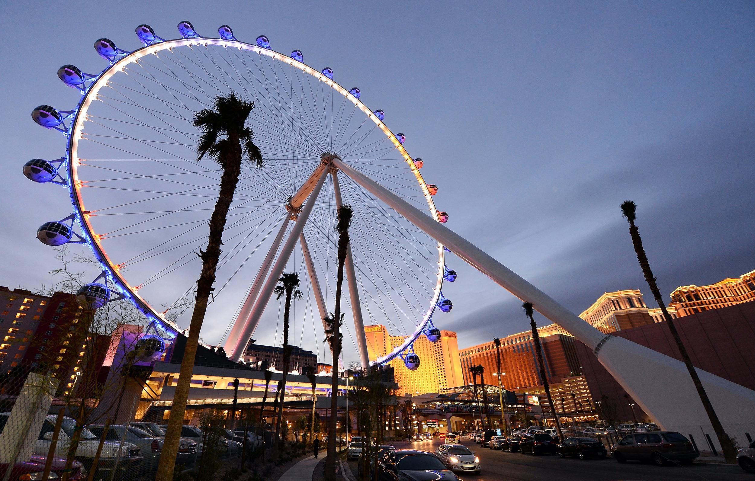 las vegas high roller wheel