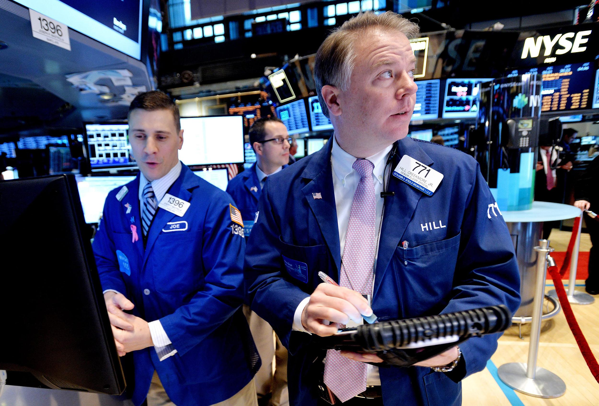 Watch The Fight That Halted Trading On Wall Street Nbc News