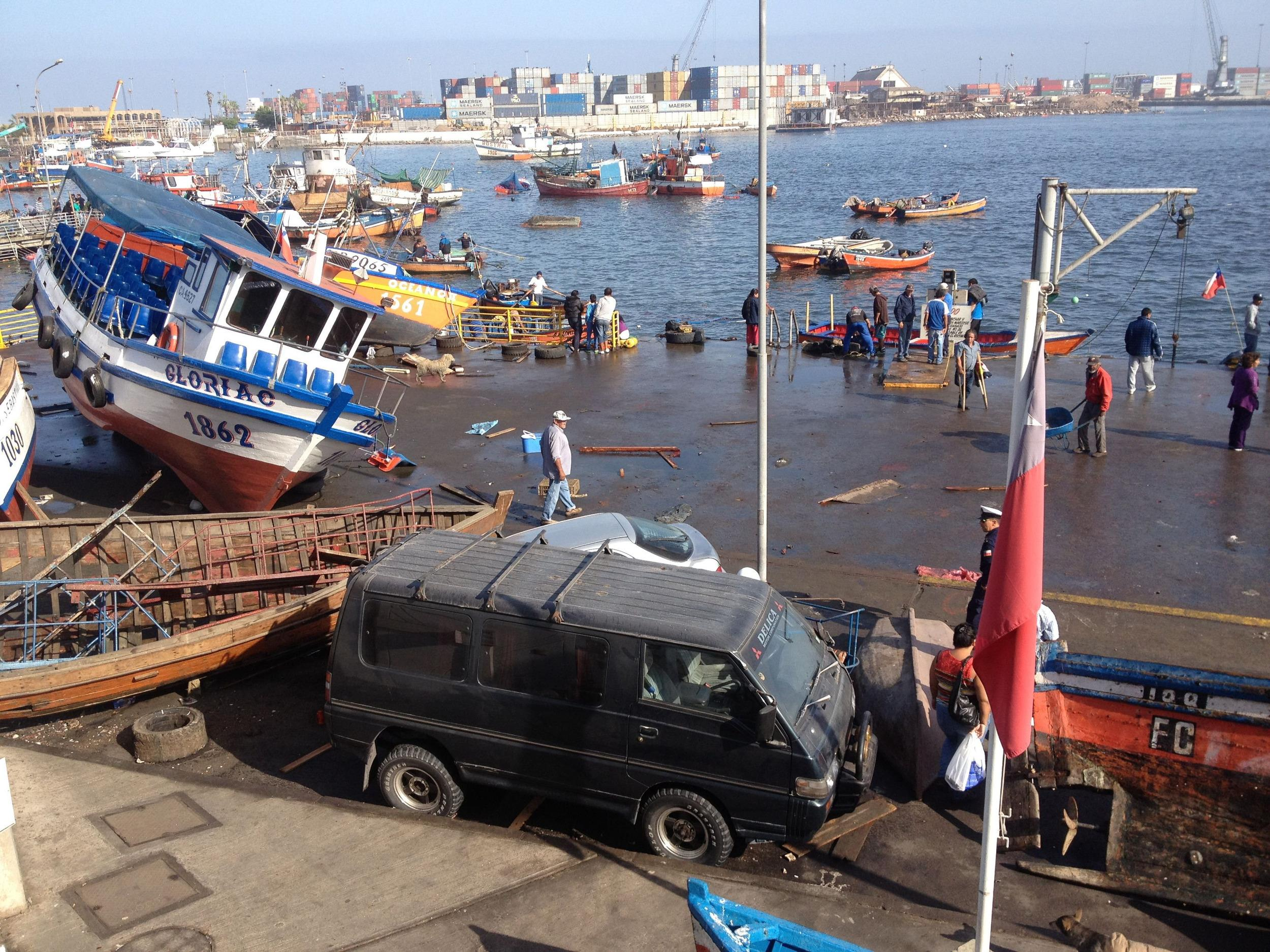 Image: CHILE-EARHTQUAKE