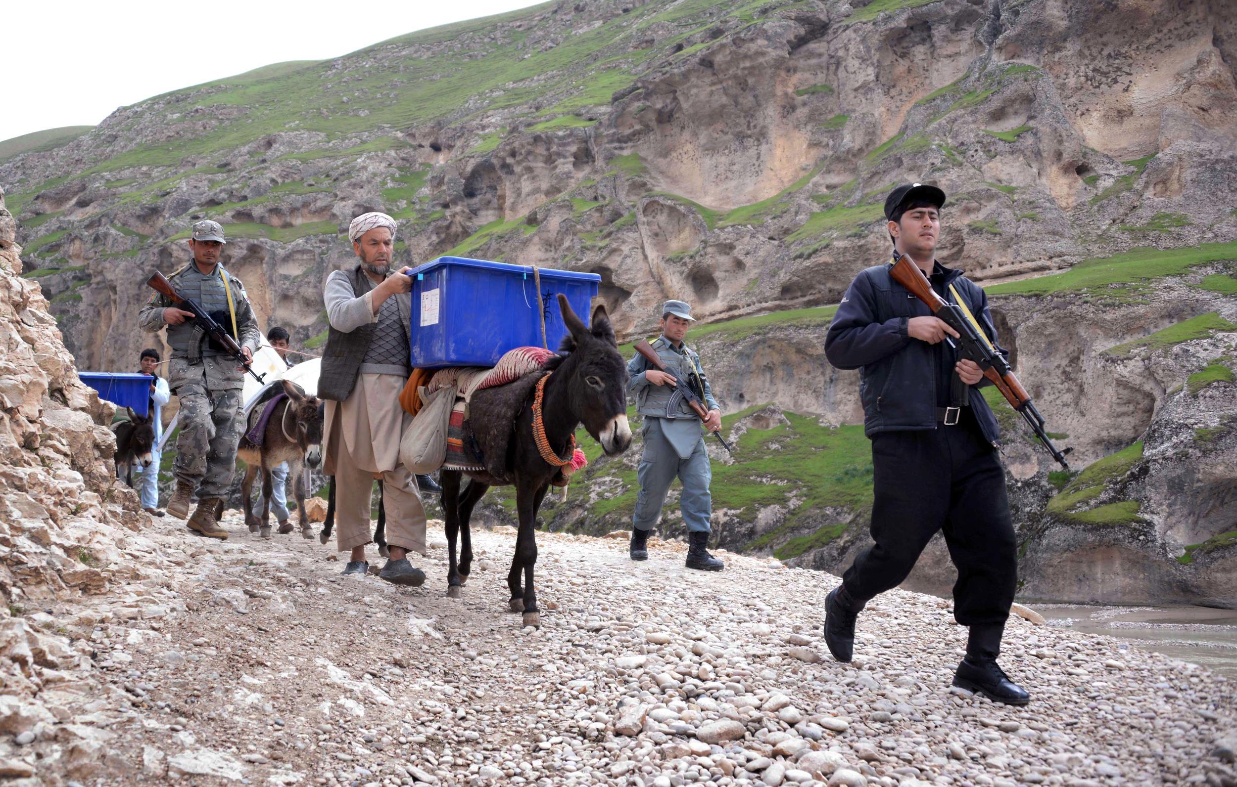 Image: AFGHANISTAN-VOTE