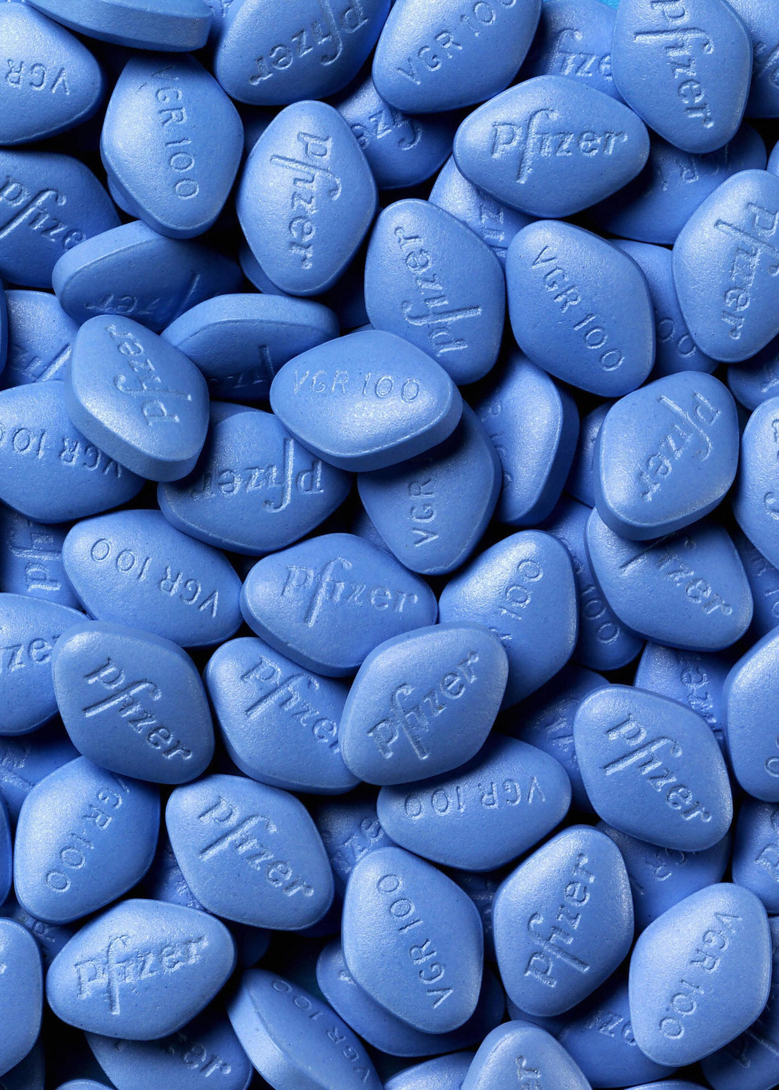 Image: Viagra pills