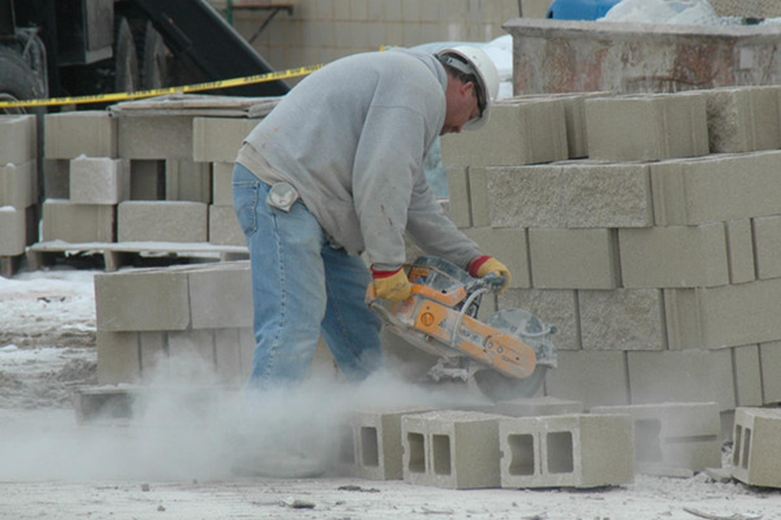 Dangerous dust government pushes to improve workplace for Cleaning concrete dust