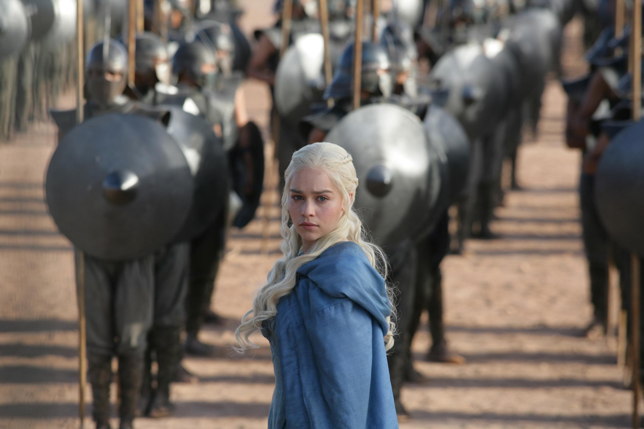 Image: Emilia Clarke in a scene from