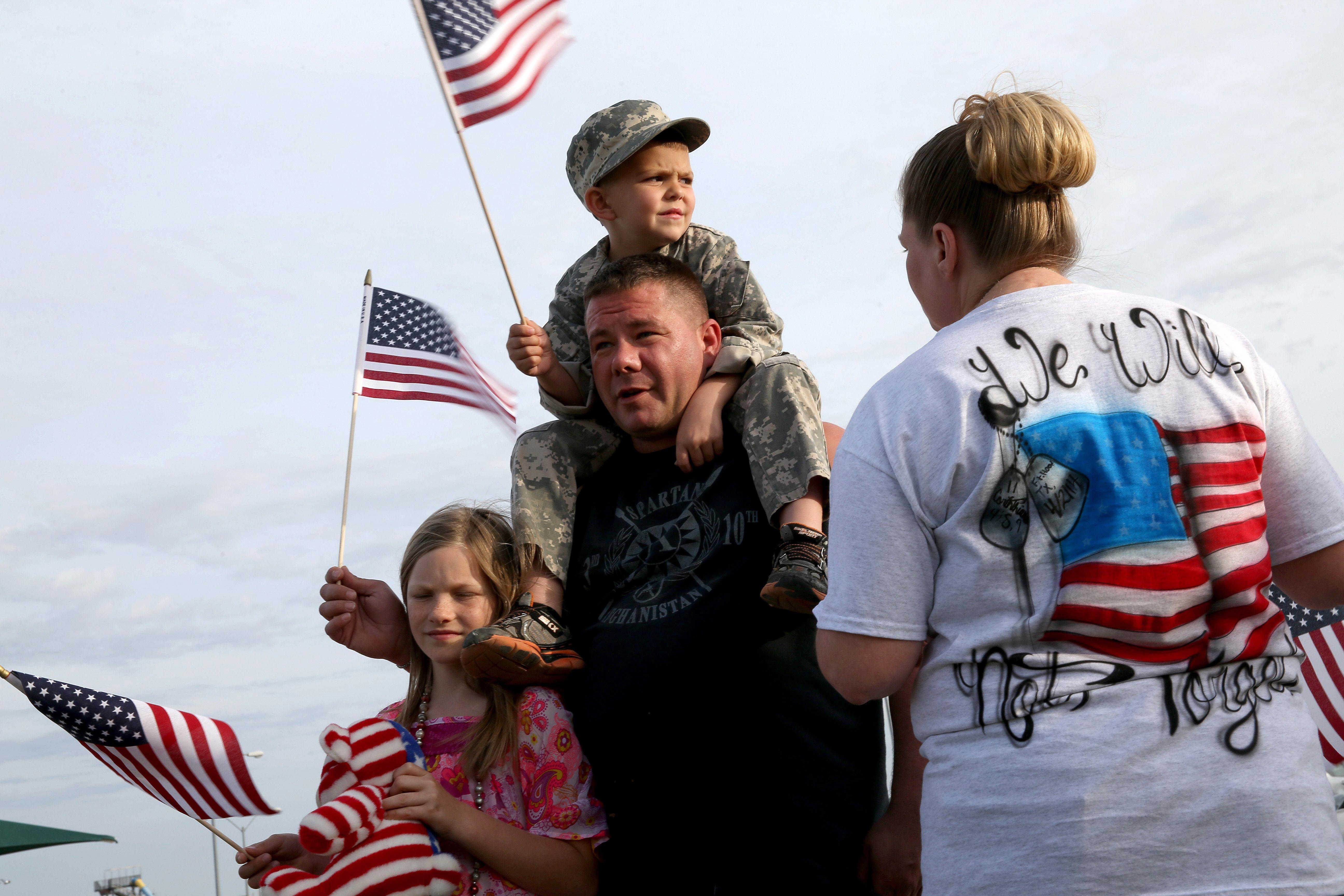 Image: Fort Hood Mourns After Mass Shootings