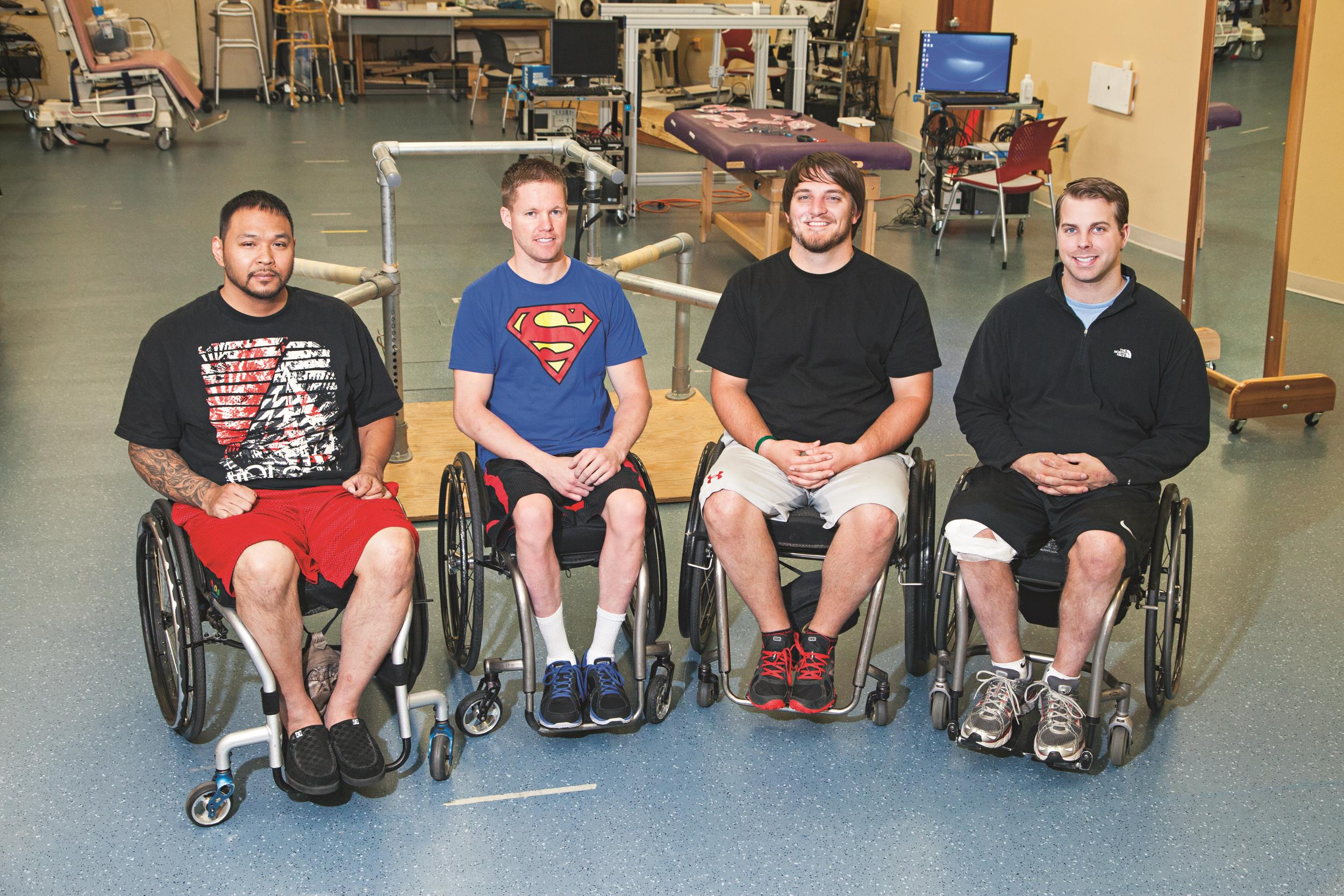 Image:  University of Louisville's Kentucky Spinal Cord  Injury Research Center