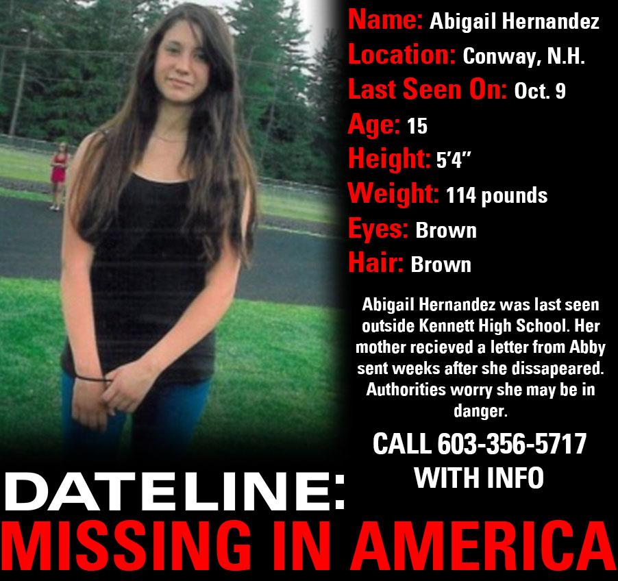 Missing In America: Abigail Hernandez
