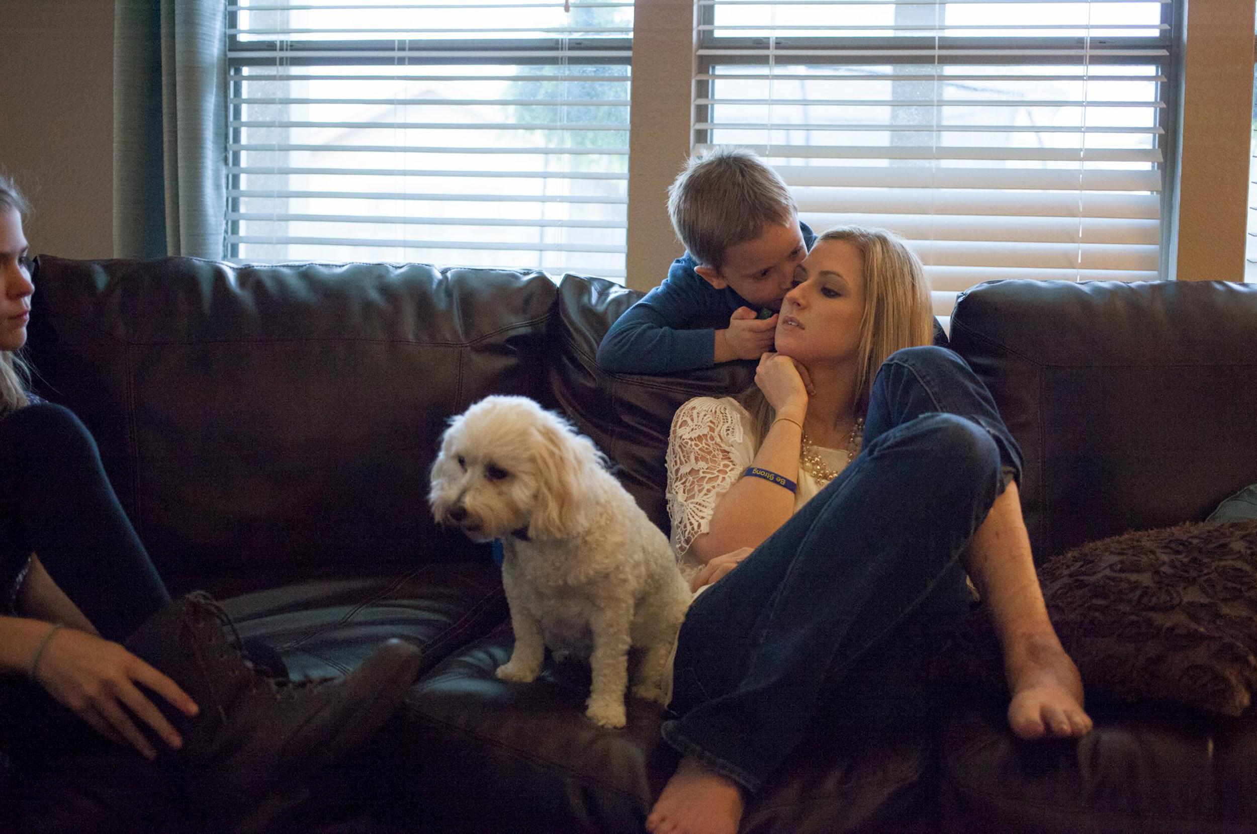 Image: Rebekah and Noah