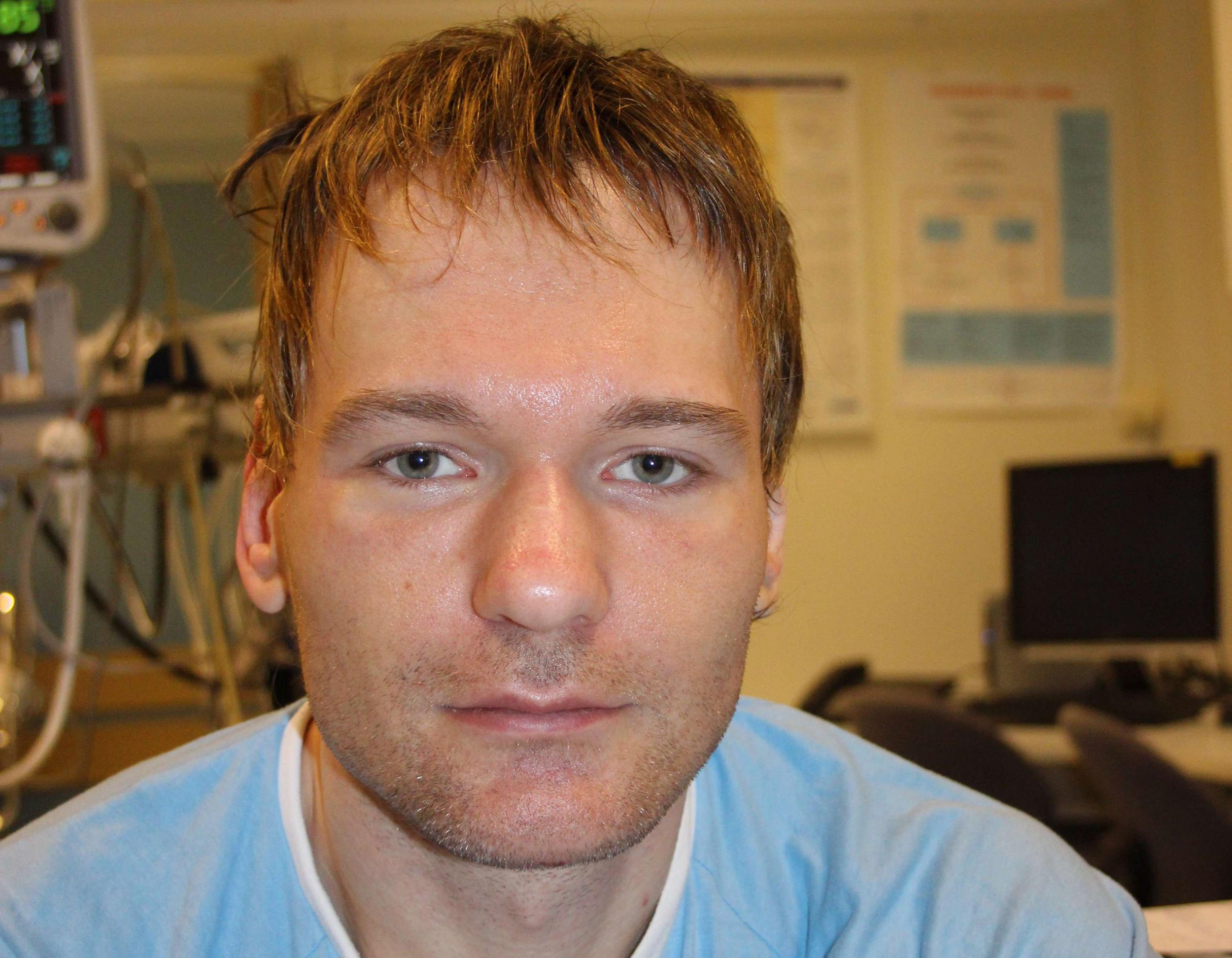 Image: A man found in Norway suffering from amnesia