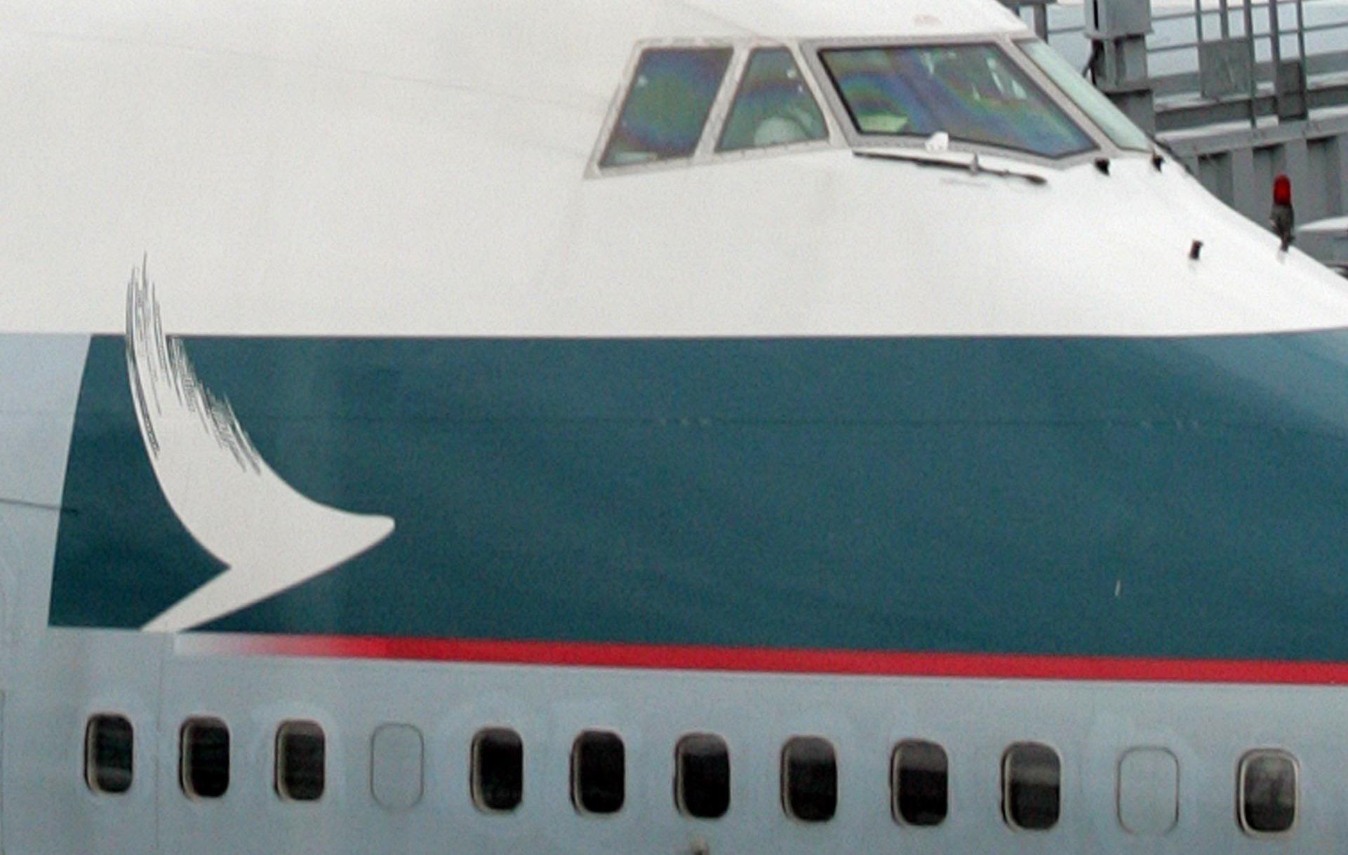 Image: Cathay Pacific plane