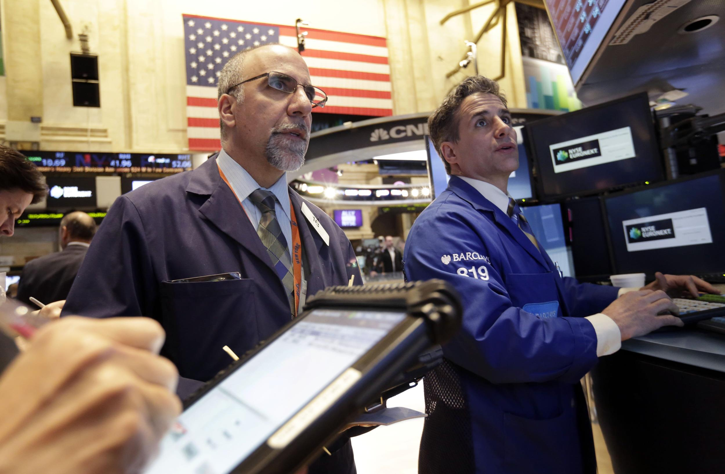 Things were not looking up in the stock markets Thursday, when a rout in tech shares led all major indices lower.
