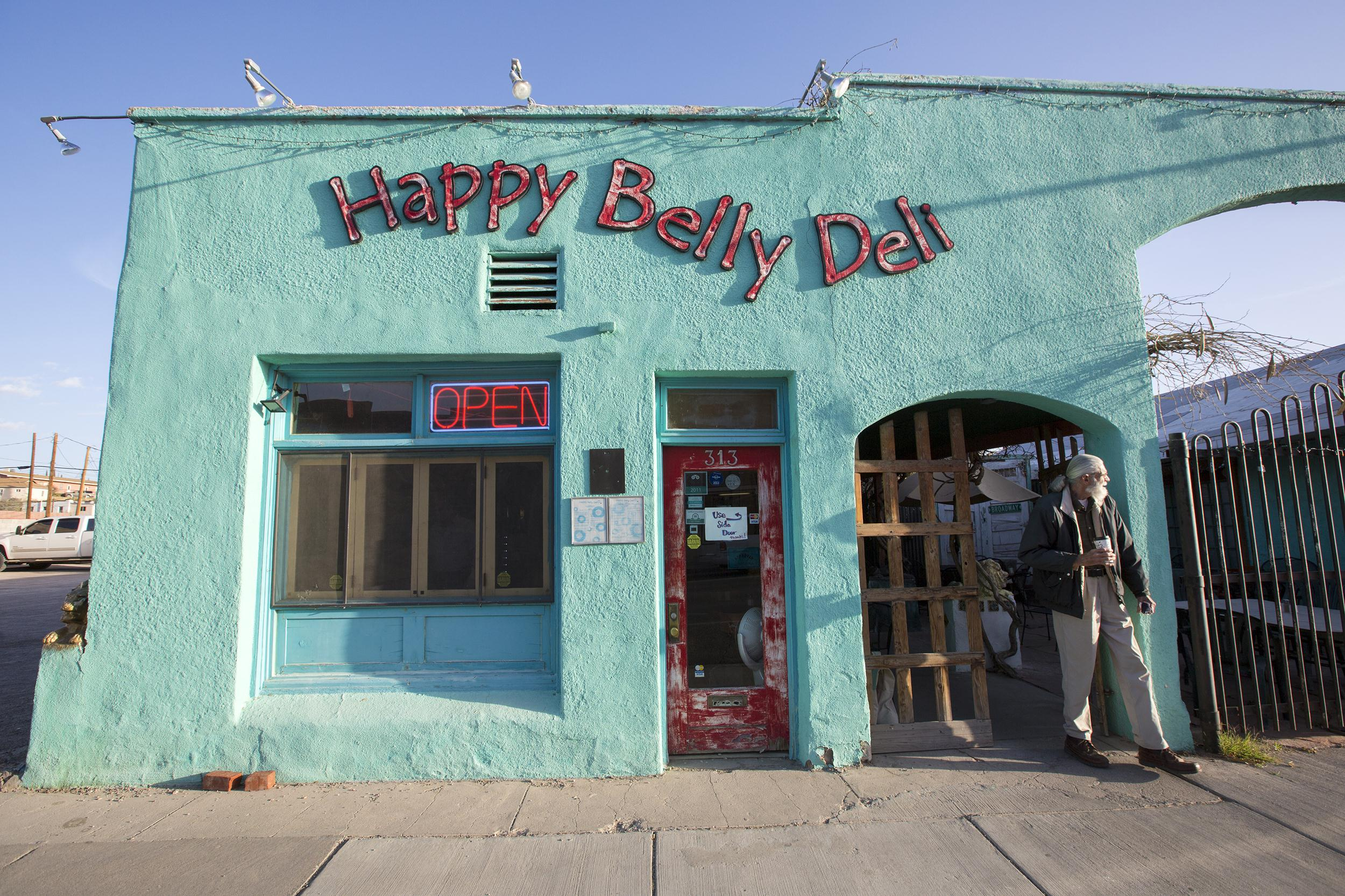 Image: Breakfast at the Happy Belly Deli