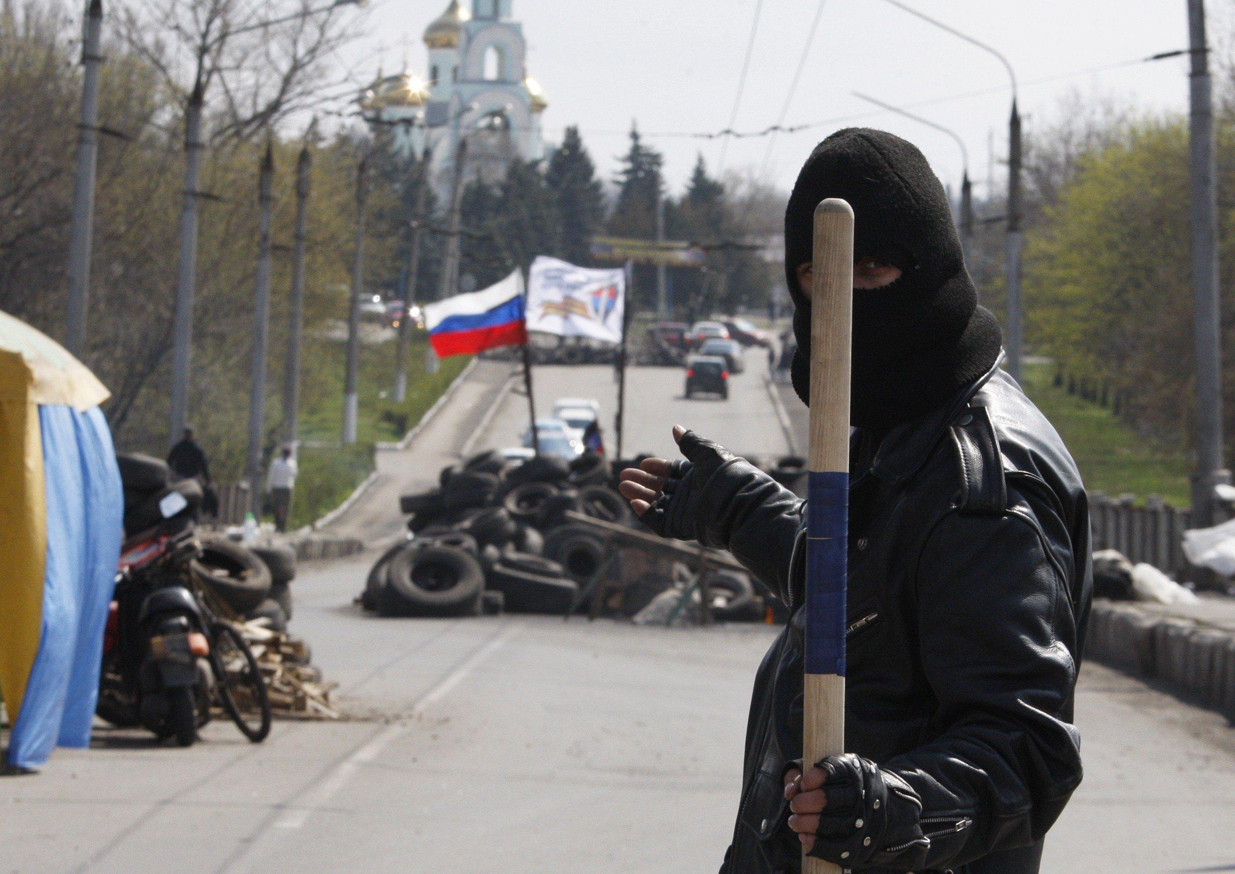 Image: UKRAINE-RUSSIA-CRISIS-POLITICS-SLAVYANSK
