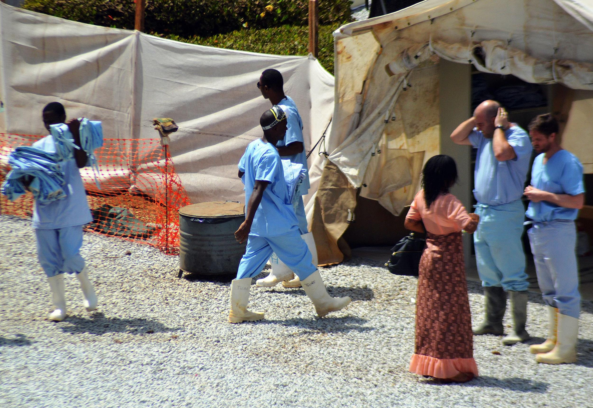 Image: GUINEA-HEALTH-EBOLA