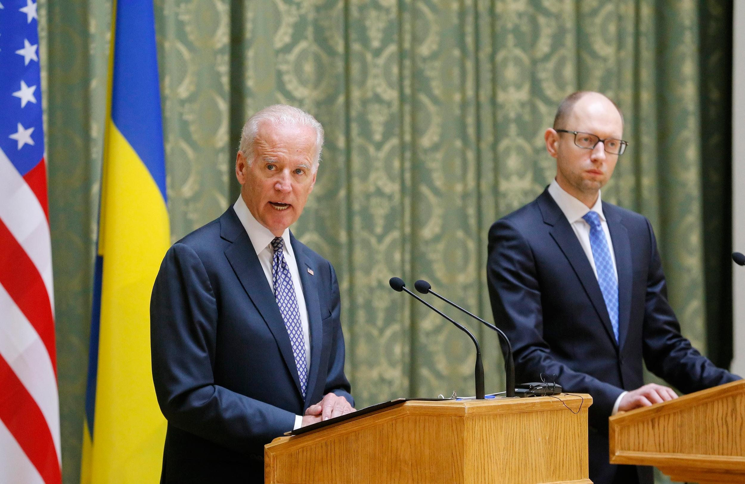 Image: US Vice President Joe Biden visits Ukraine