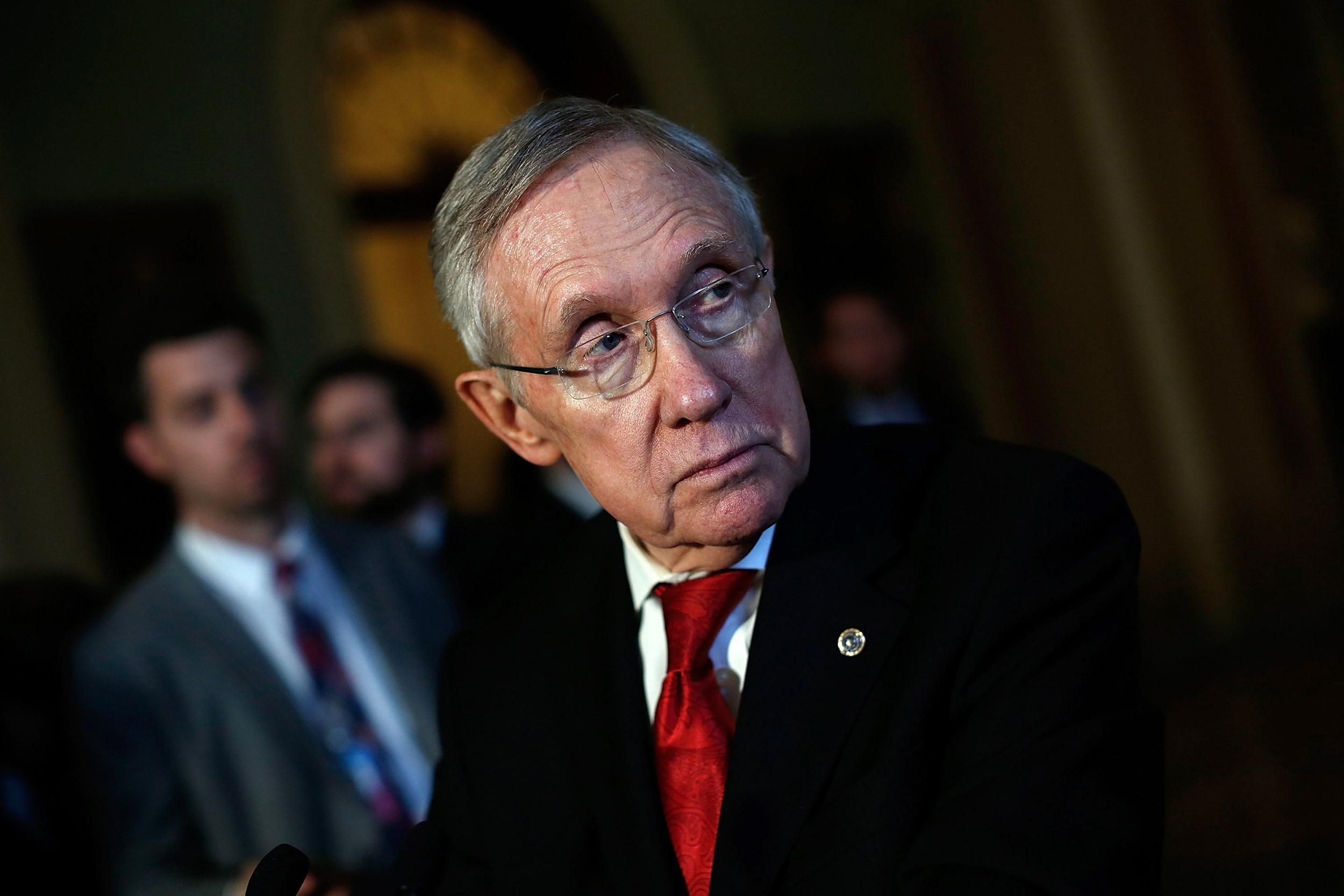 Image: Senate Majority Leader Harry Reid (D-NV)