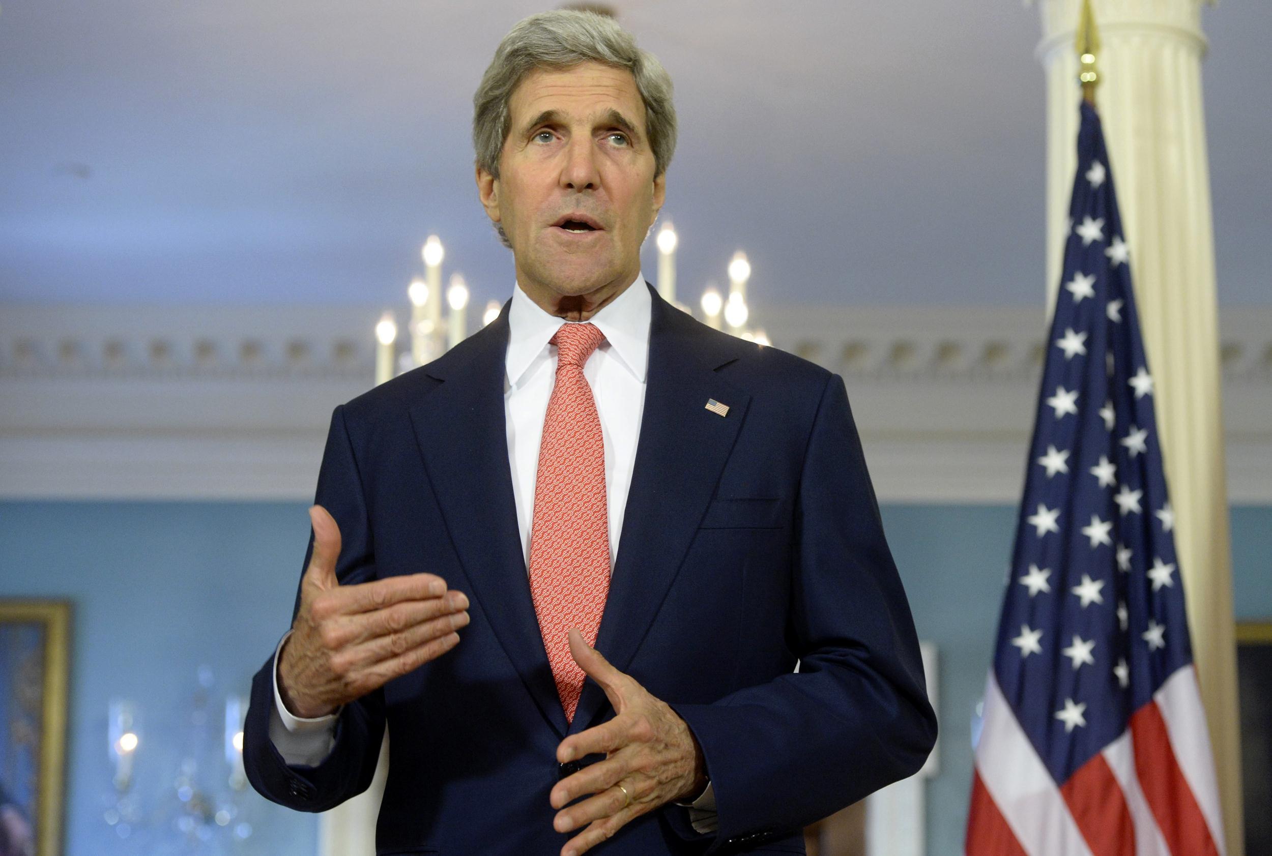 Image: Secretary of State John Kerry