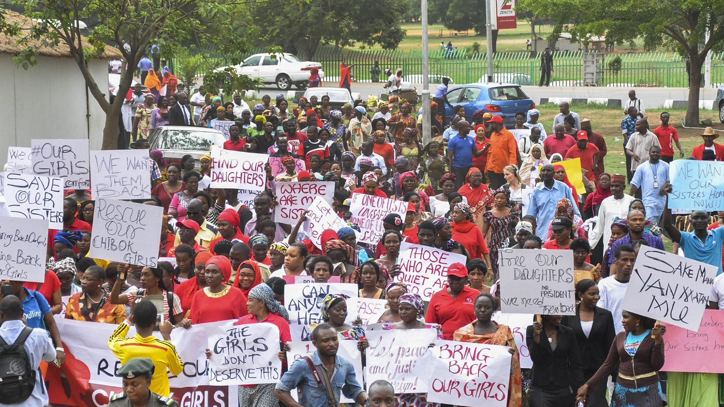 Image: Million woman march in Abuja, Nigeria