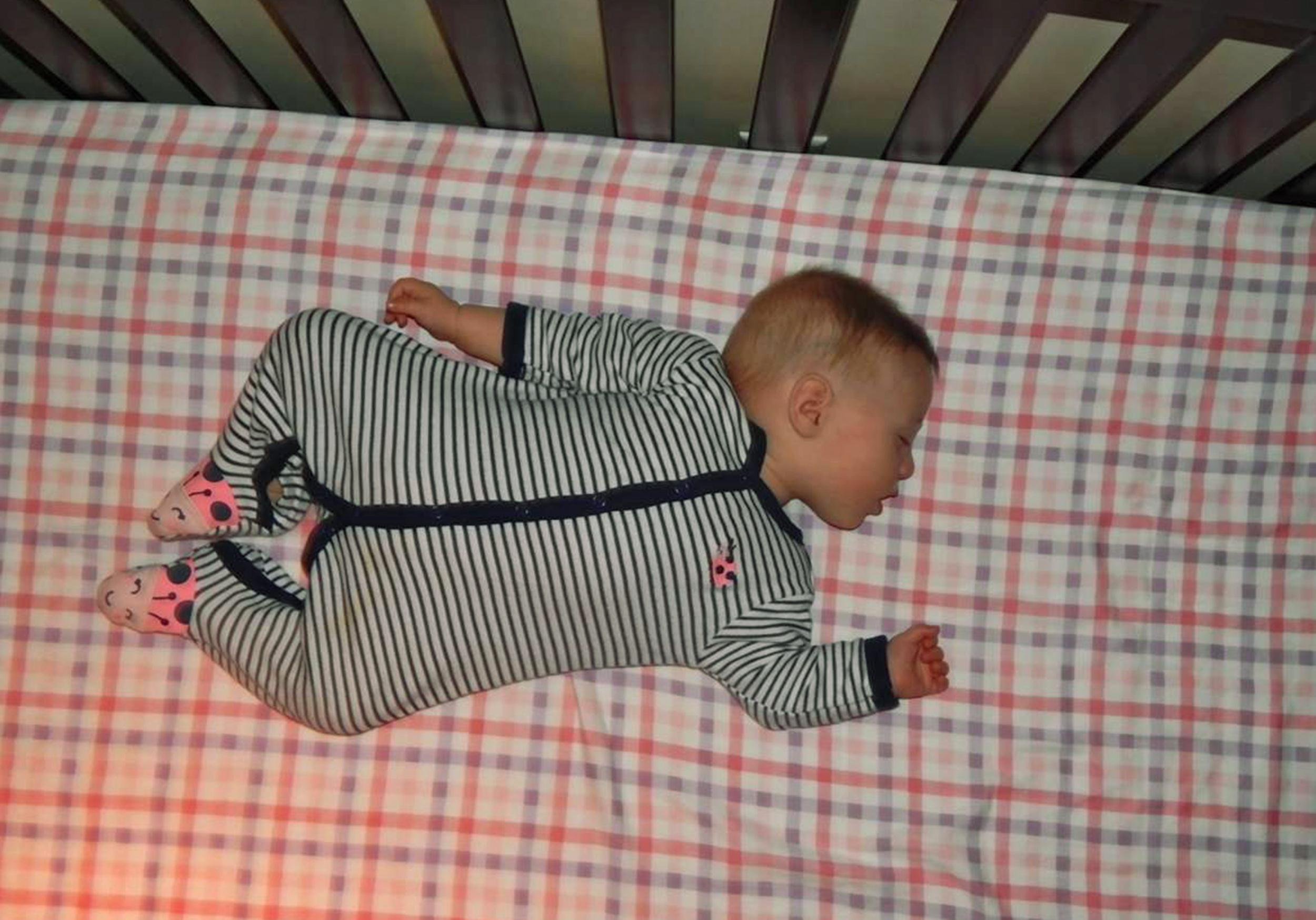 8-month-old twin Sophia Massoud