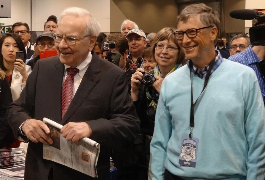 Warren Buffett and Bill Gates took aim at high-frequency trading, which has been accused of