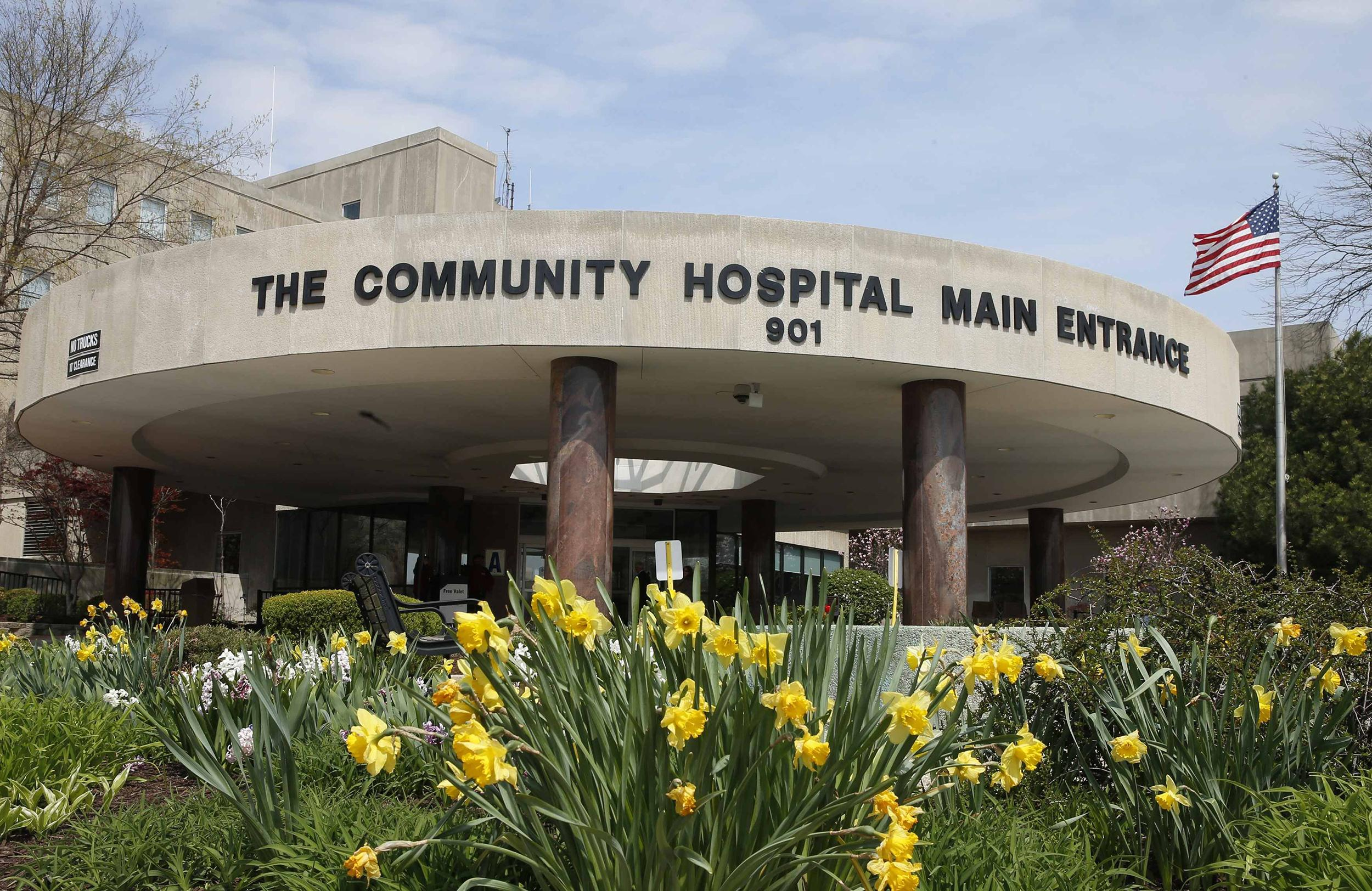 Image: The exterior of Community Hospital, where a patient with the first confirmed U.S. case of the Middle East Respiratory Syndrome is in isolation, is seen in Munster, Indiana