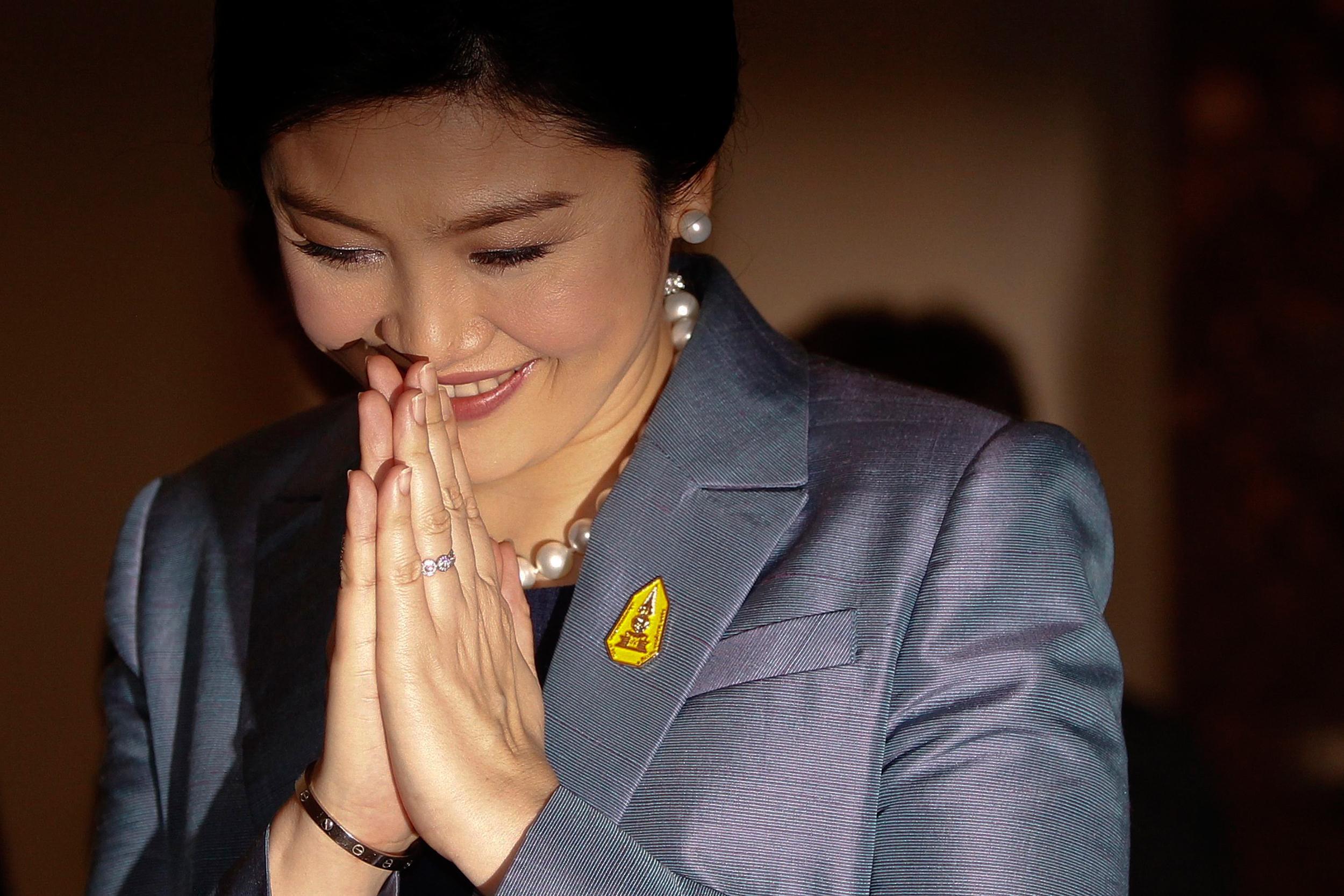 Image: Thailand's Prime Minister Yingluck Shinawatra