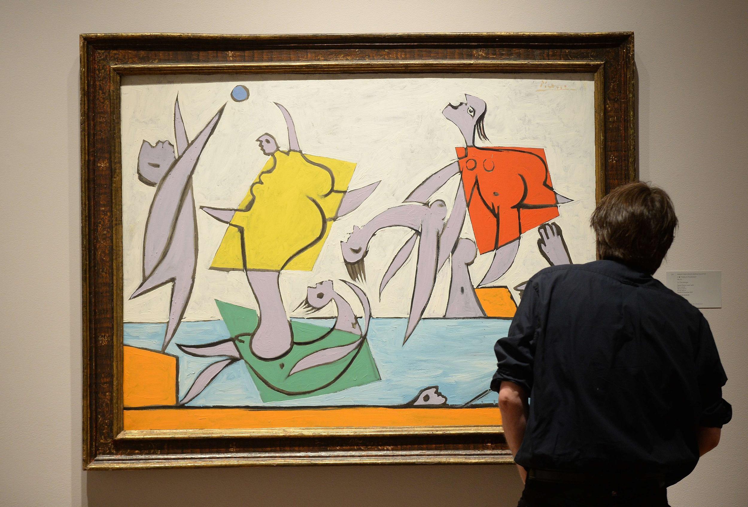Image: US-ART-AUCTION-IMPRESSIONIST & MODERN ART-SOTHEBY'S