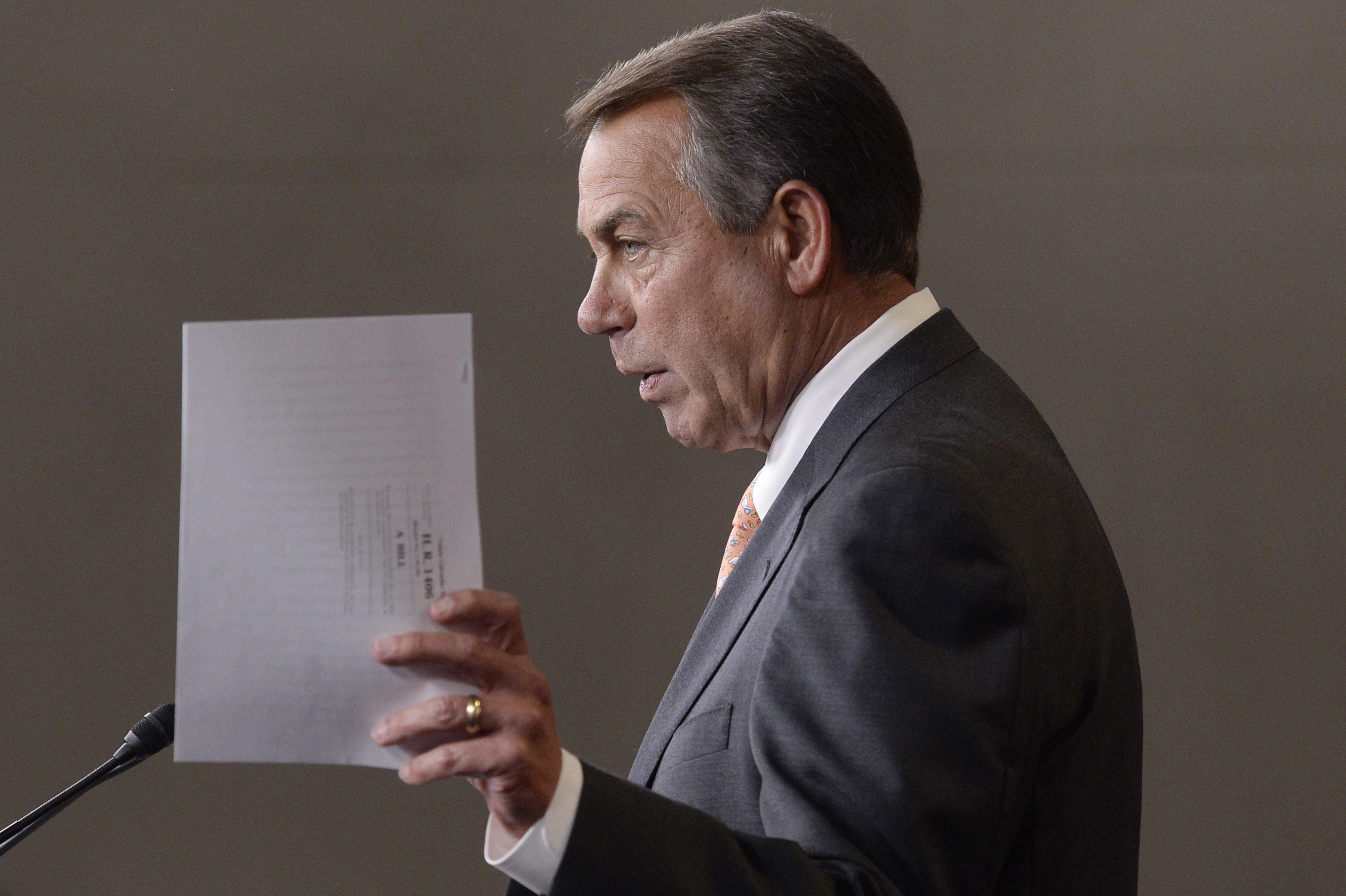 Image: Speaker of the House and Republican from Ohio John Boehner