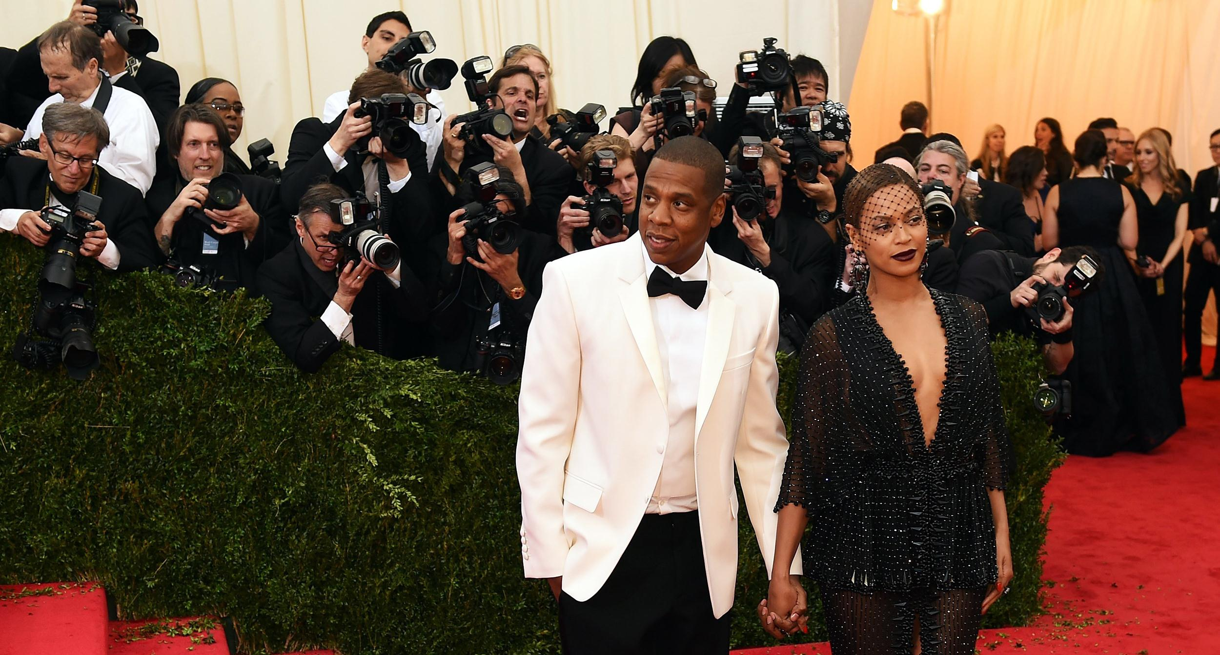 Image: Jay-Z and Beyonce arrive at the Costume Institute Benefit at The Metropolitan Museum of Art May 5.