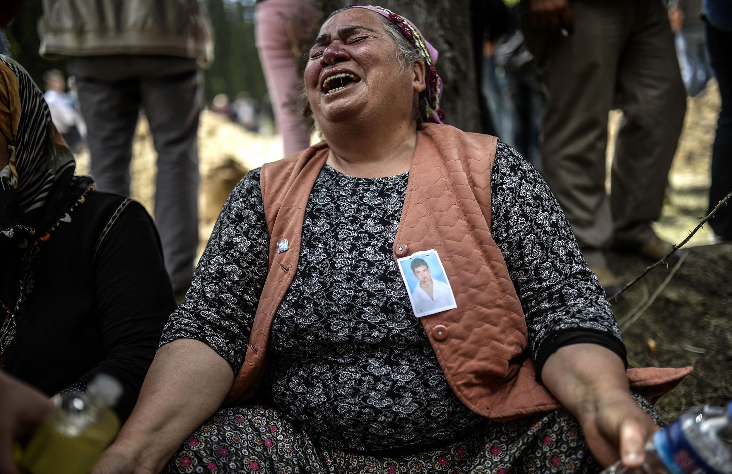 Image: TURKEY-MINING-ACCIDENT