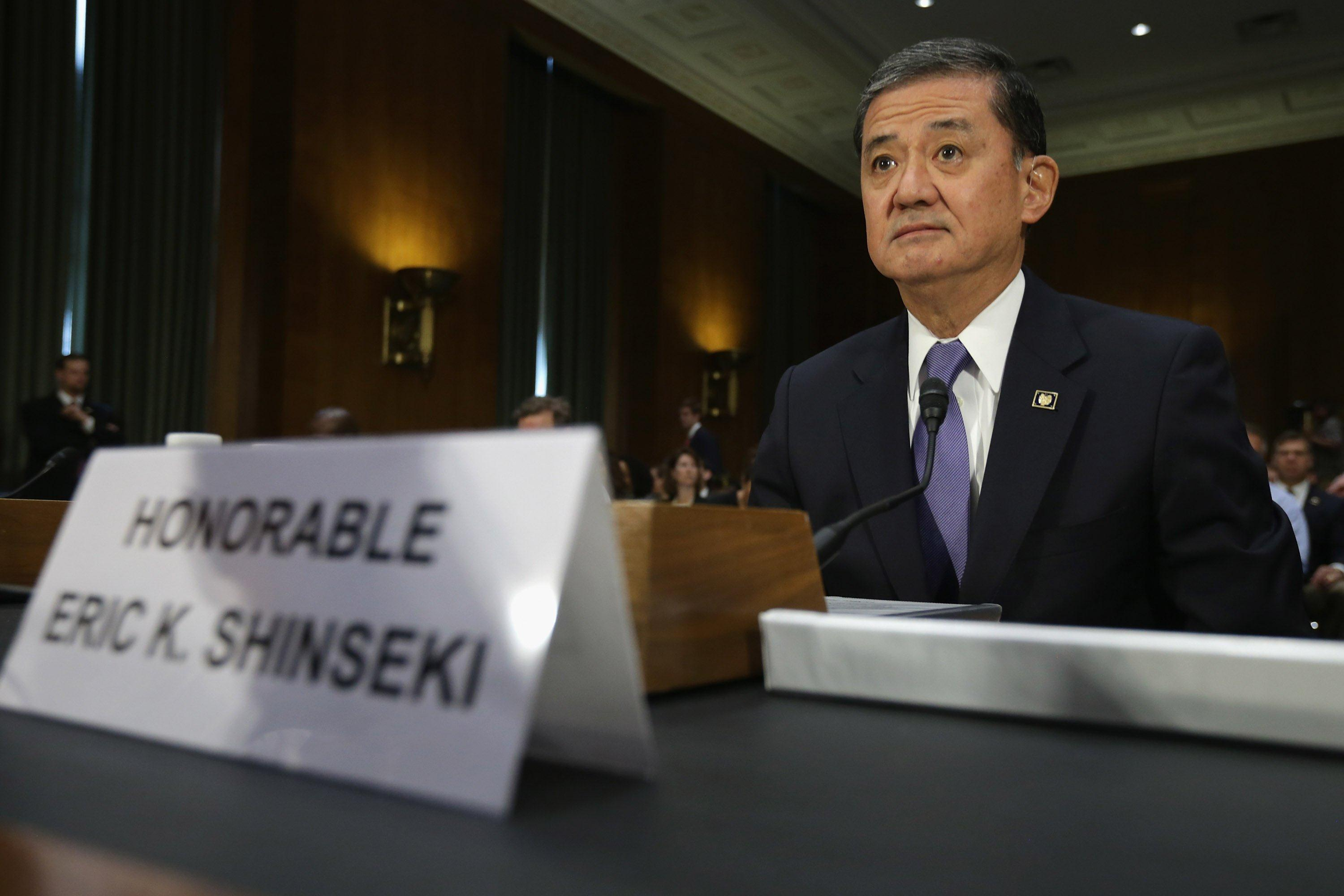 Image: VA Secretary Shinseki Testifies Before Senate On State Of VA Health Care