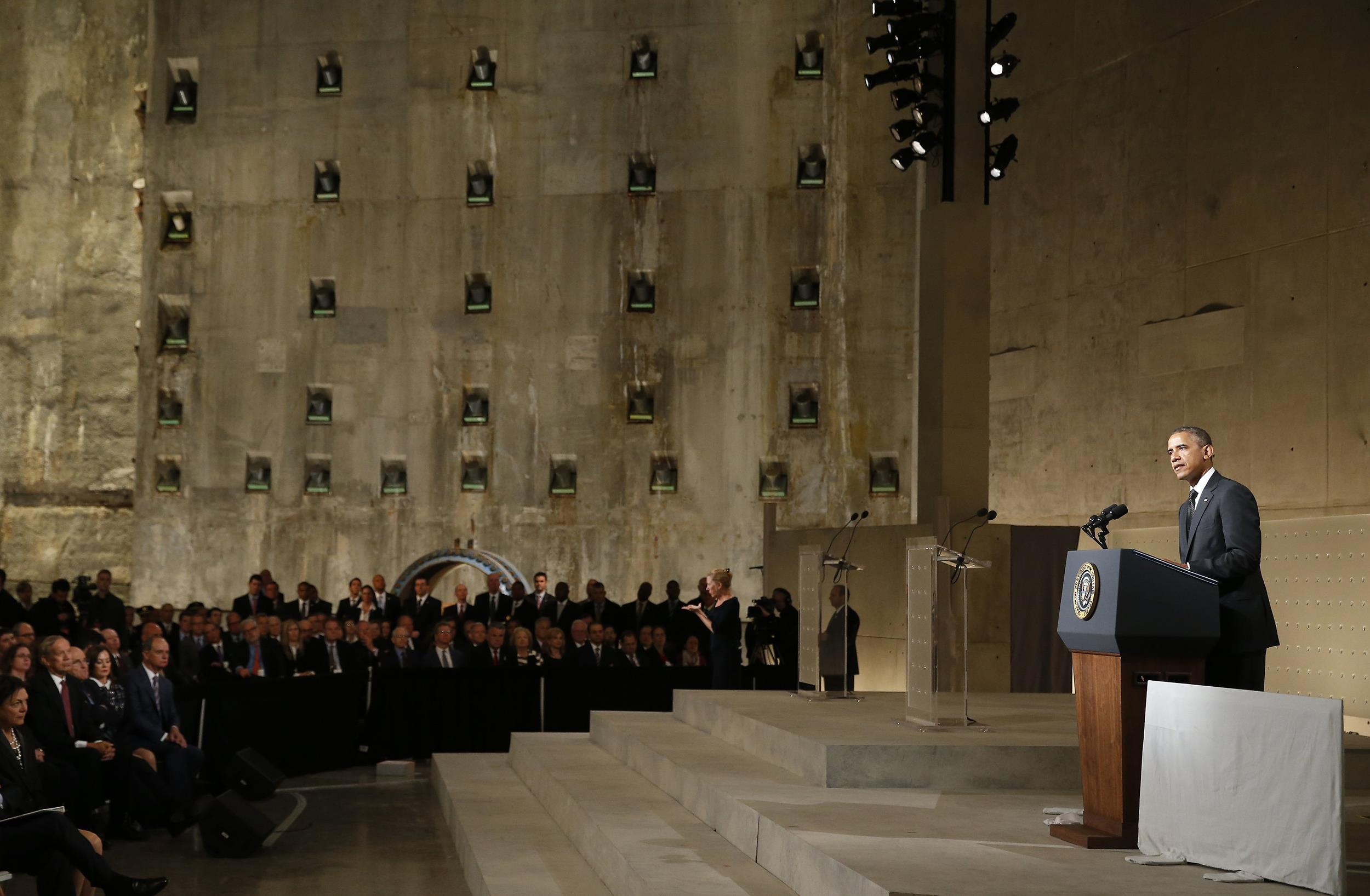 Image: President Obama, Officials Attend 9/11 Memorial Museum Opening Ceremony