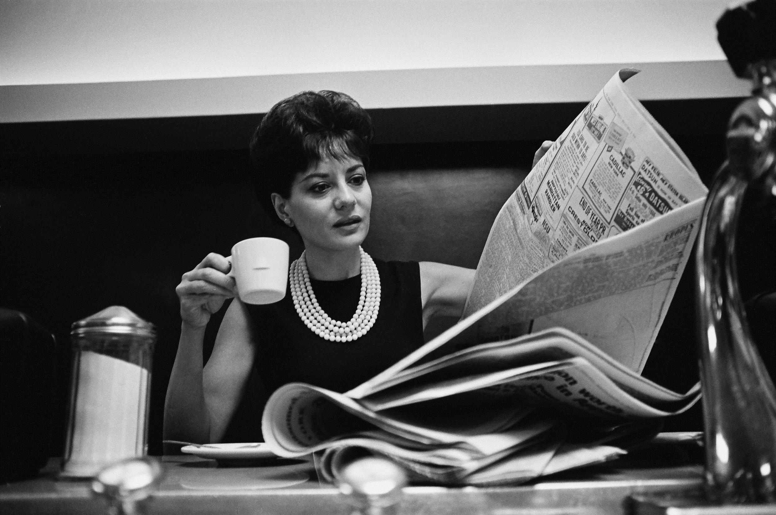 Image: NBC News' Barbara Walters in 1965