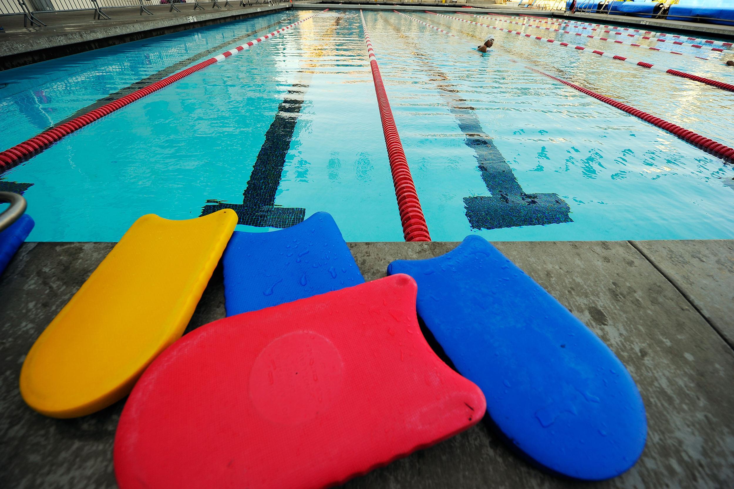 Image: A swimming pool