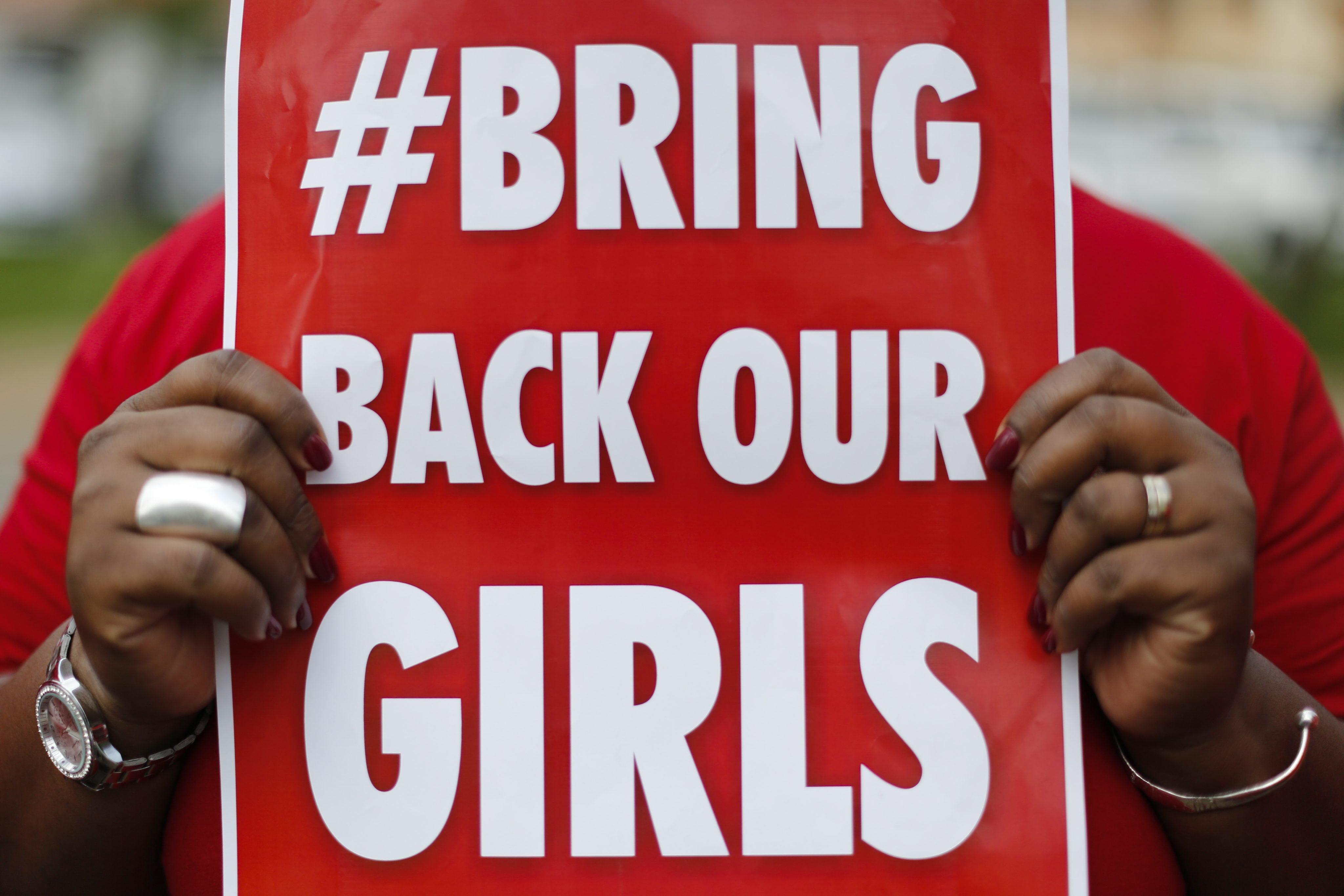 Image: Nigerian women in Kenya protest against kidnapping of Nigerian school girls