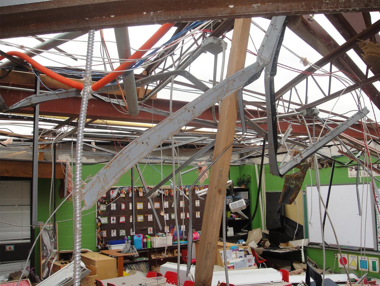 Image: Briarwood Elementary in Moore, Okla.