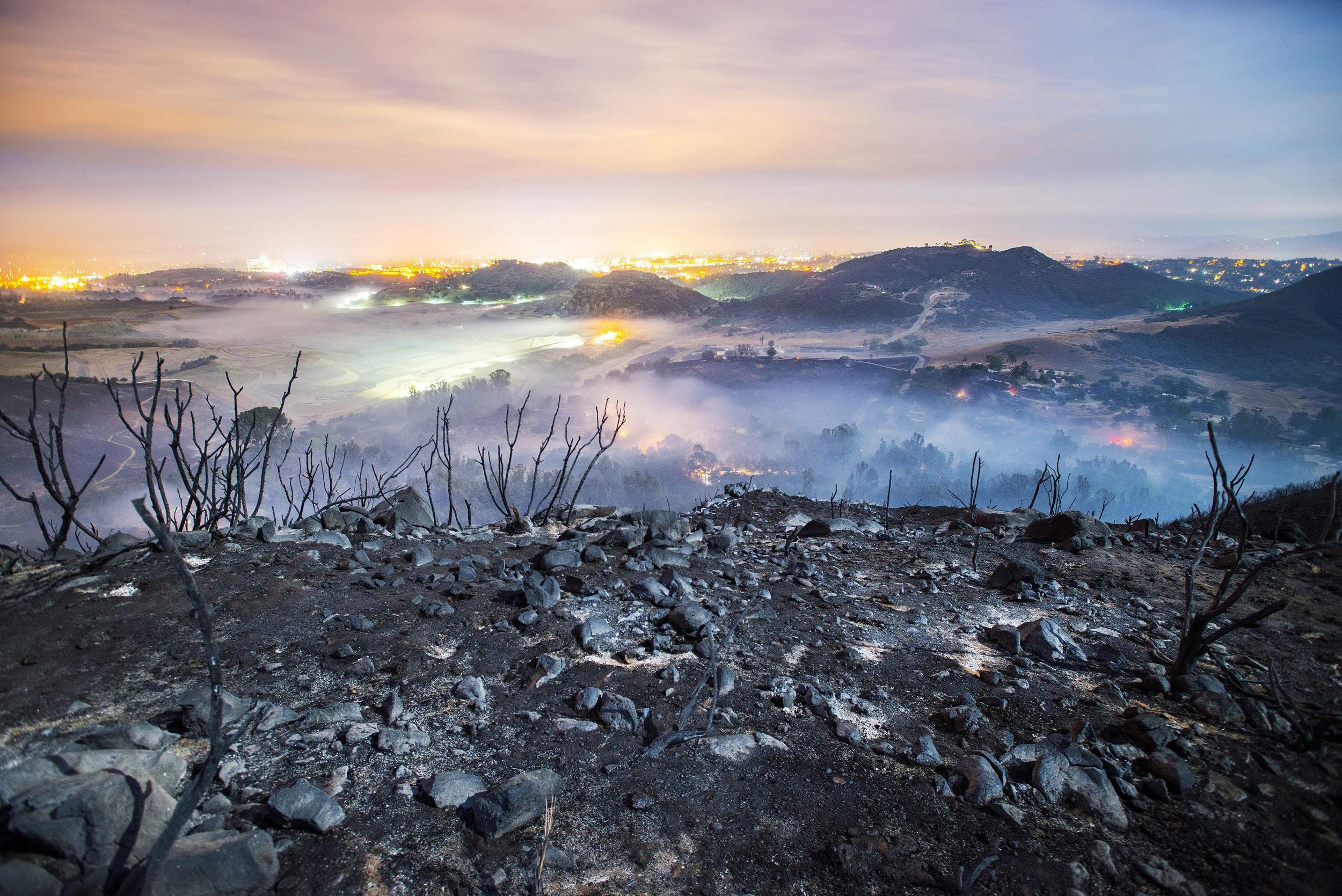 Image: California wild fires