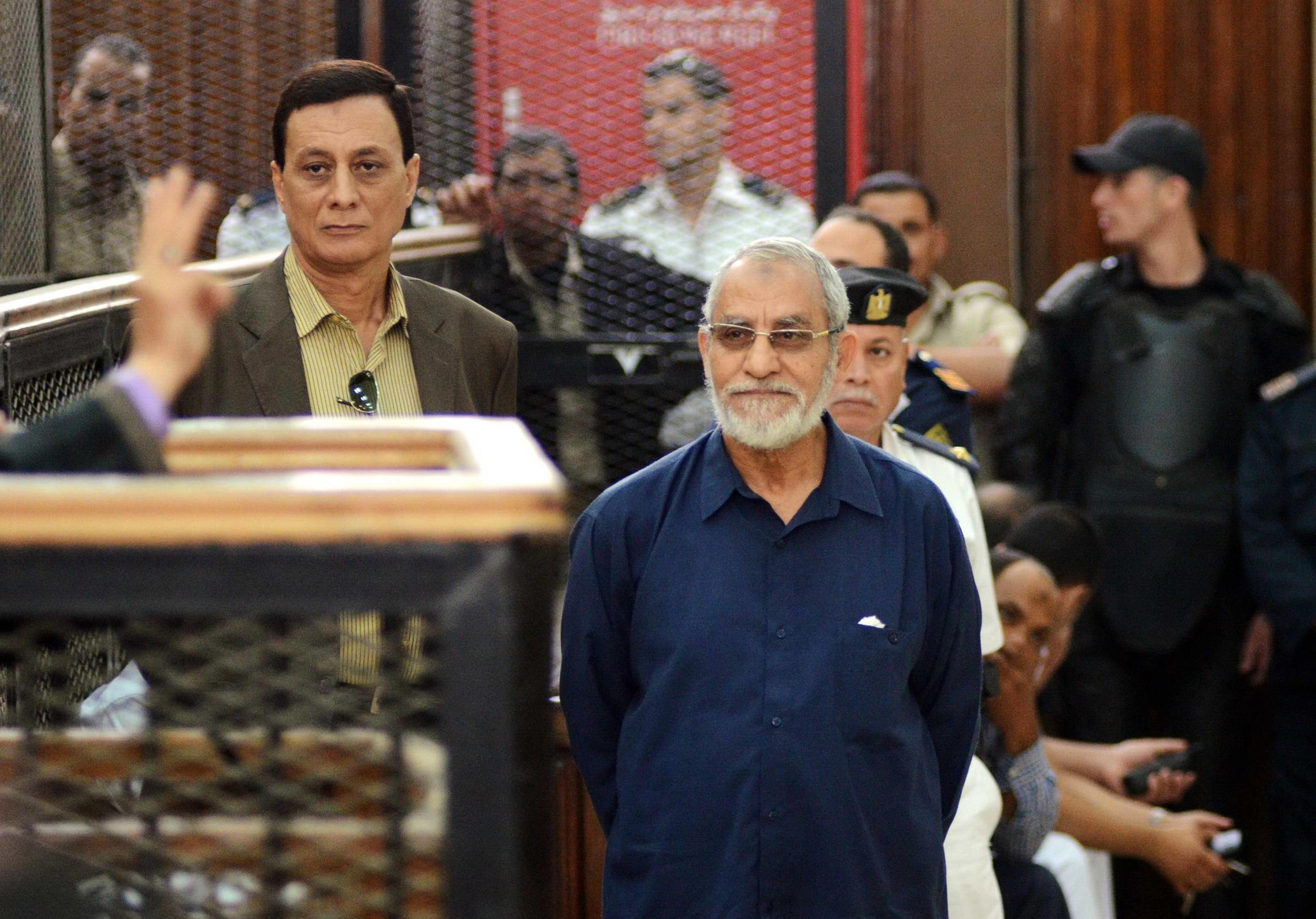 Image: Egyptian Brotherhood's supreme guide Mohamed Badie
