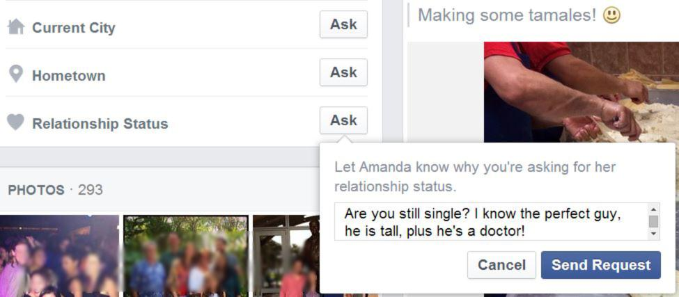how to ask someone to be your friend on facebook
