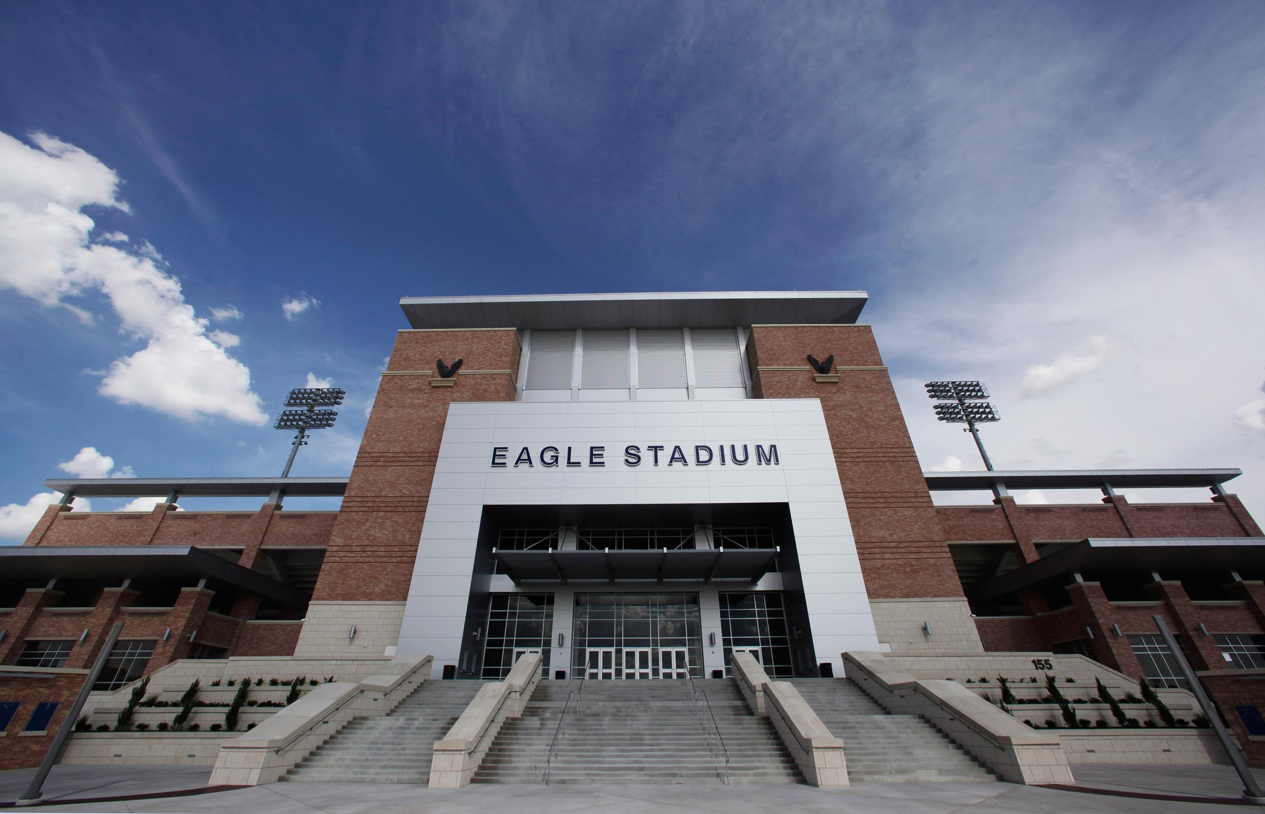 Image: Eagle Stadium at Allen High School in Allen, Texas