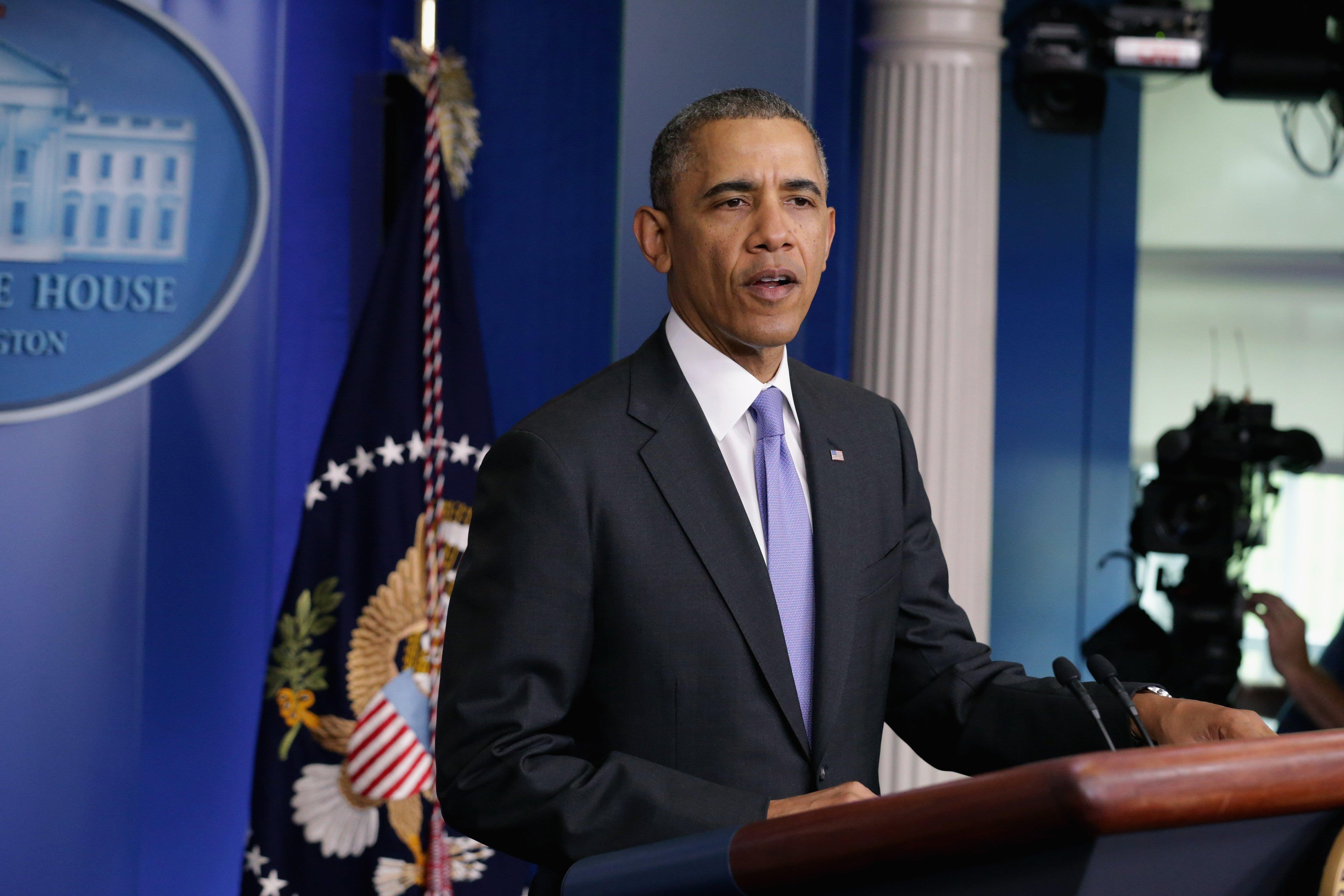 Image: President Obama Delivers Statement On Veterans Affairs Scandal