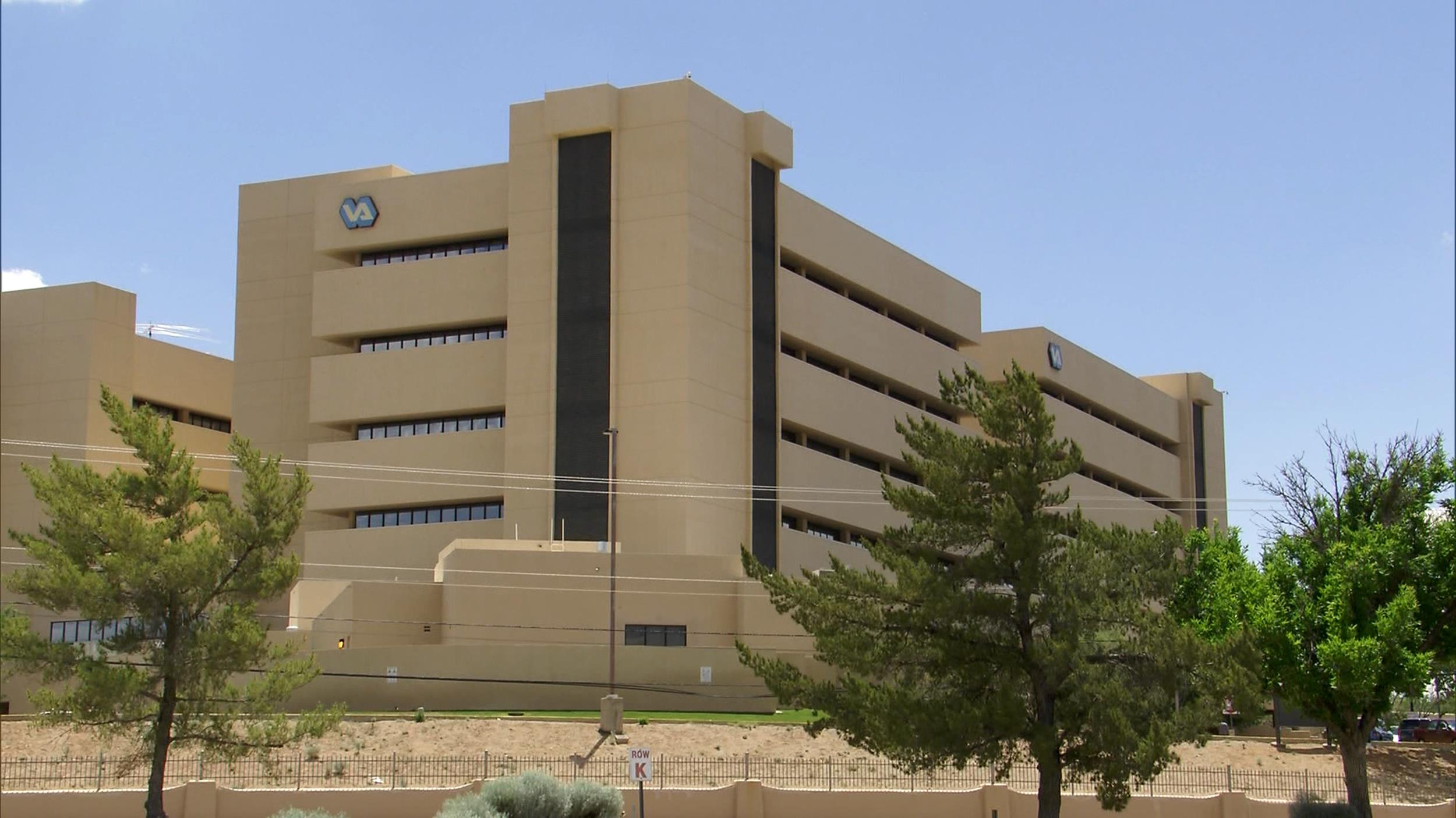 Image: The VA hospital in Albuquerque