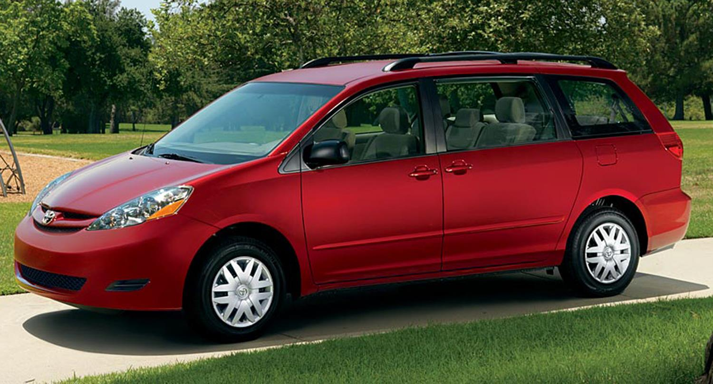 Image: Toyota Sienna