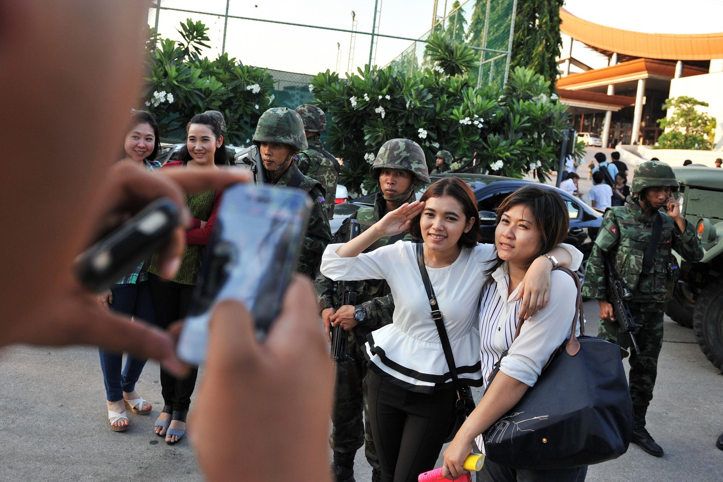 Image: Thailand Coup D'etat As Military Seize Control