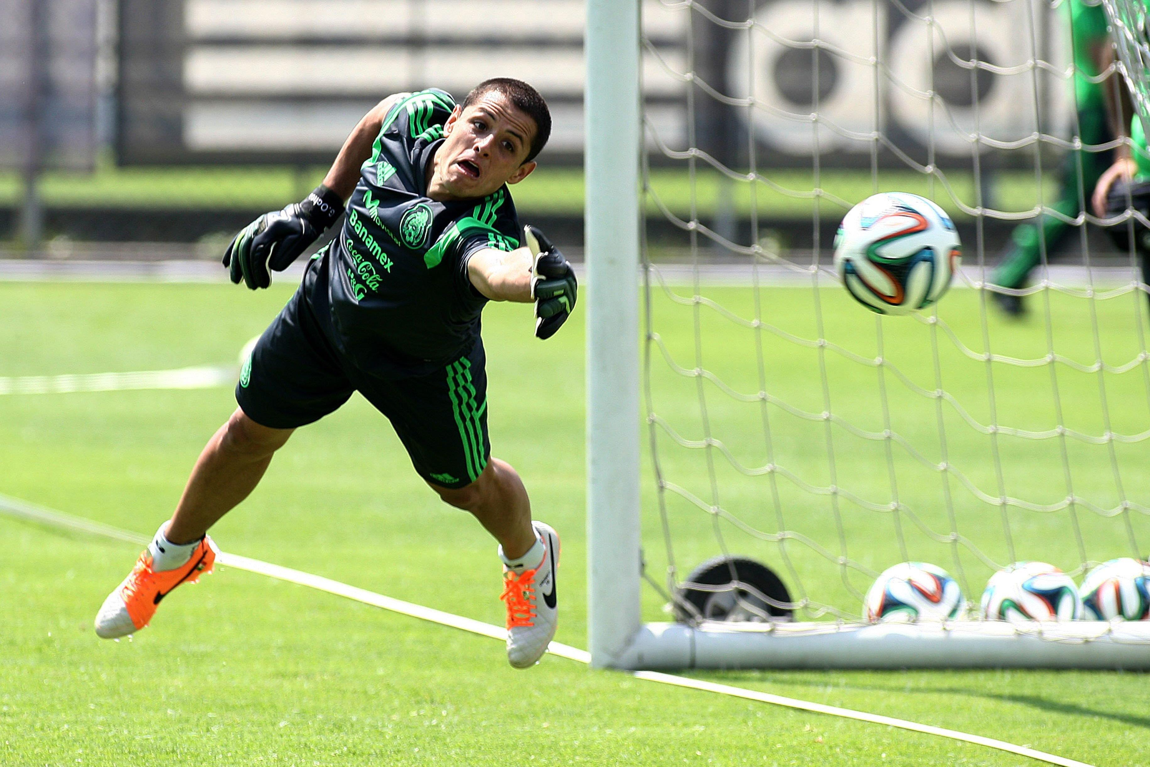 Image: TRAINING SESSION OF MEXICO