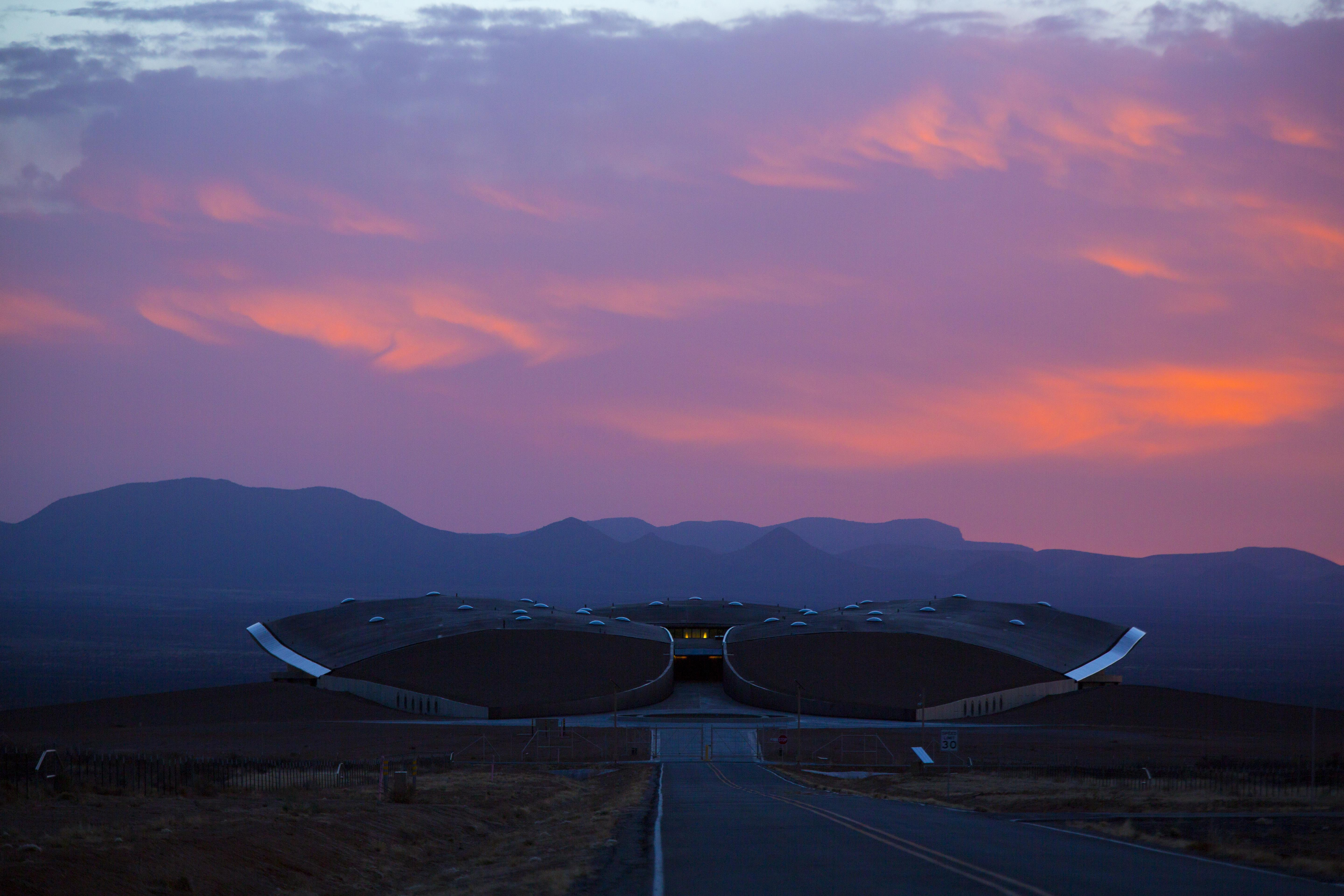 Image: Spaceport America in New Mexico is ready for Virgin Ga