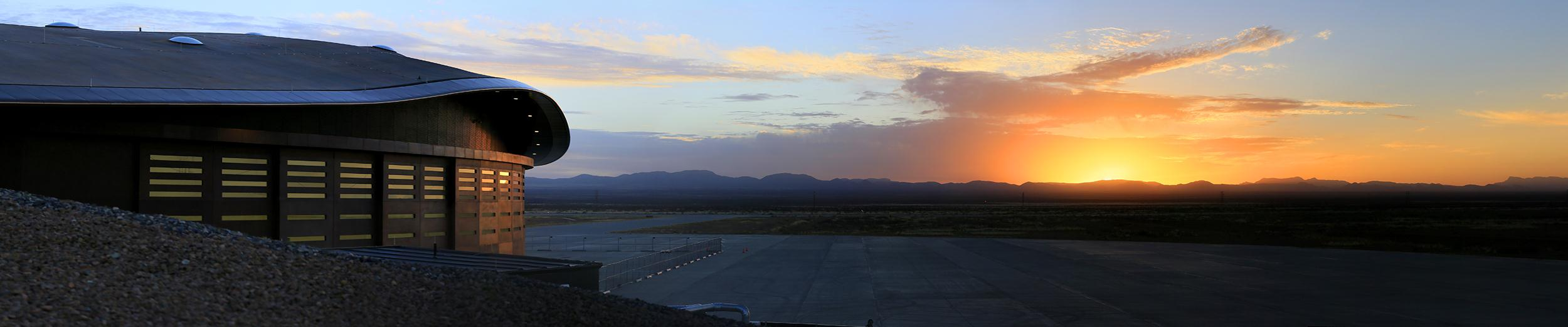 Image: Spaceport America in the New Mexico desert is ready for Virgin Galactic to move in and begin operations.