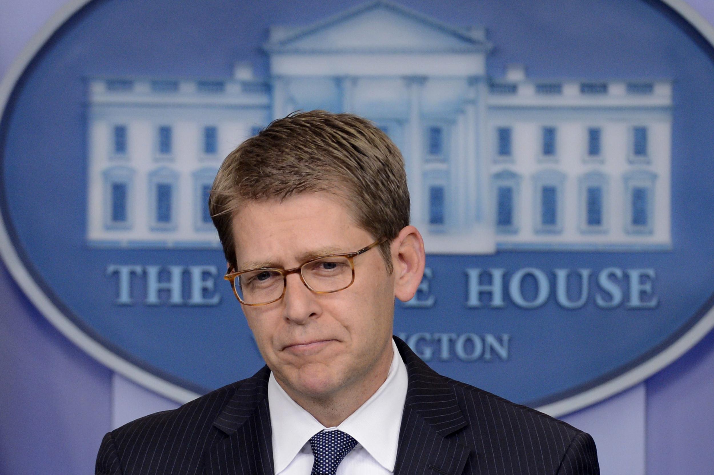 Image: White House Press Secretary Jay Carney