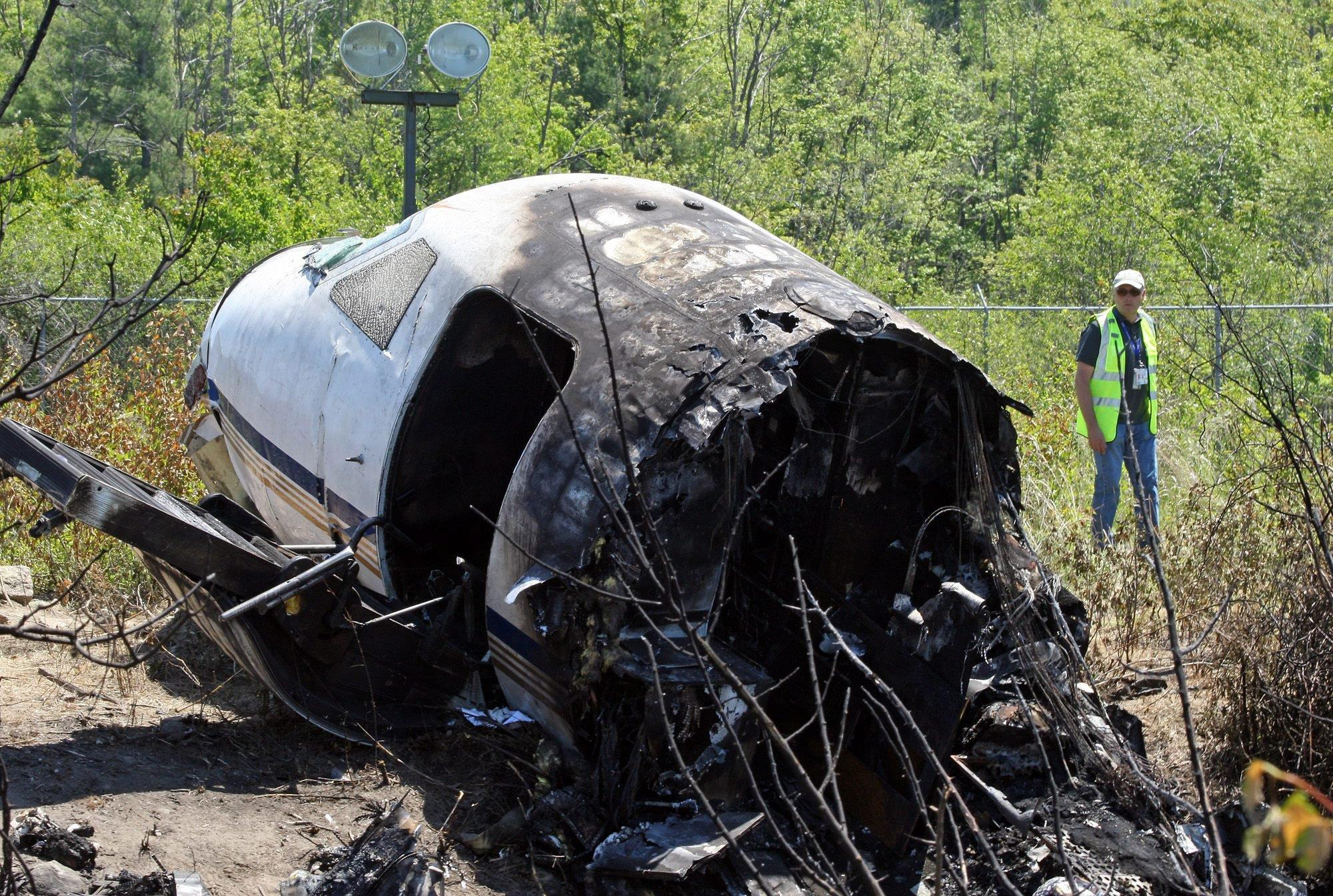 Image: Seven killed in small plane accident